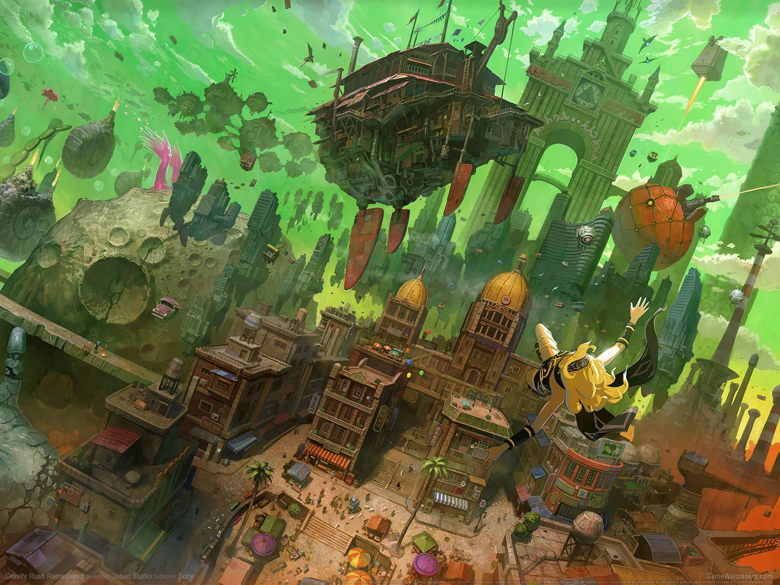 Gravity Rush Remasteredνmmer=03 Hintergrundbild  1600x1200