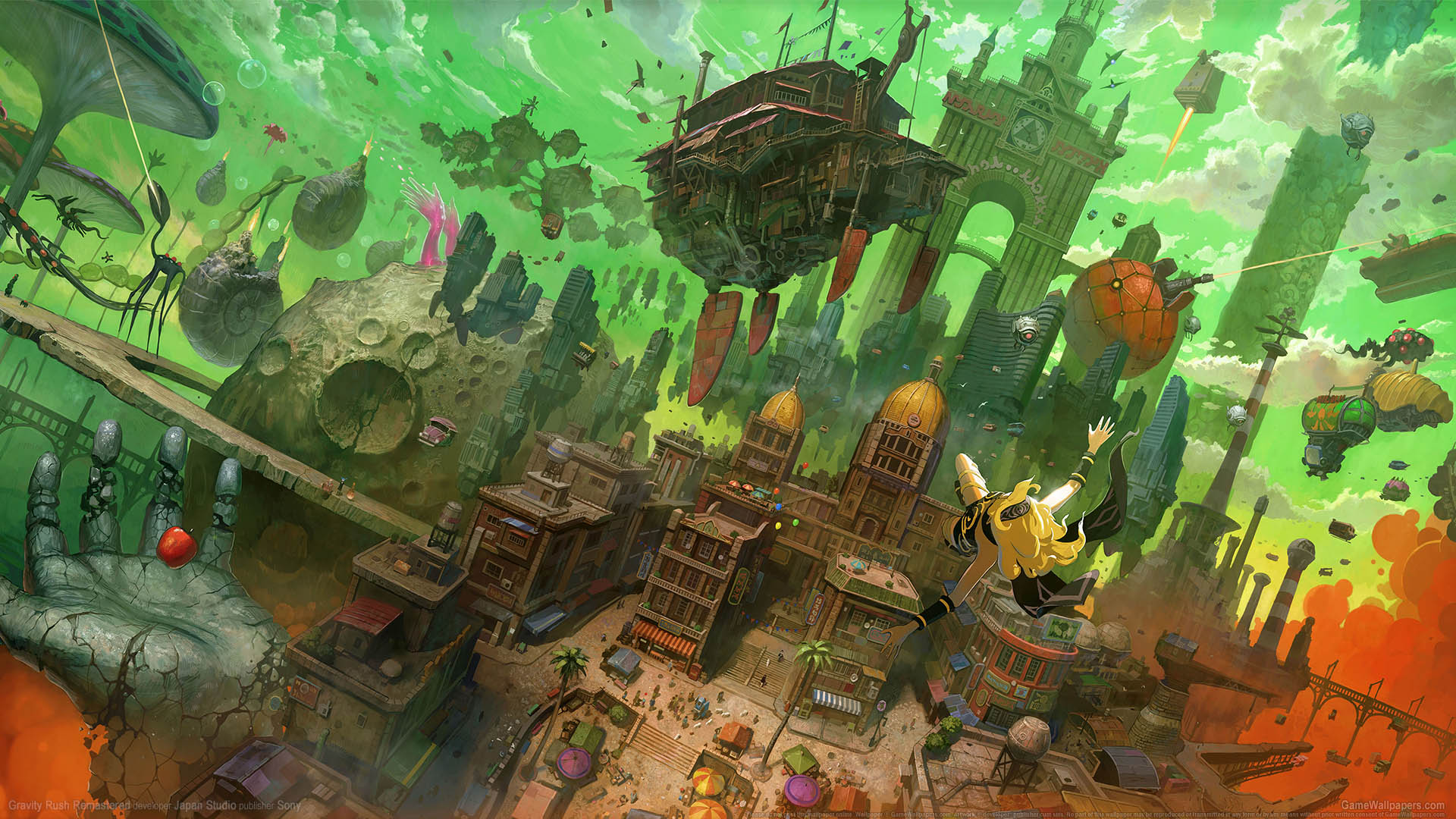 Gravity Rush Remastered fondo de escritorio 03 1920x1080
