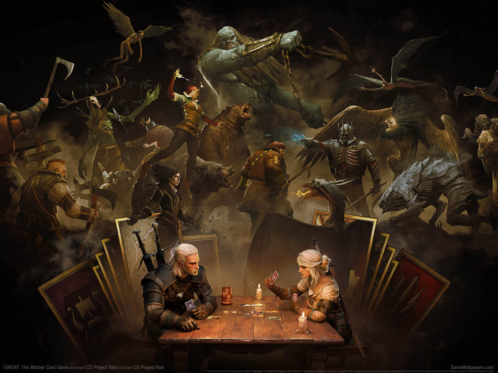 GWENT: The Witcher Card Gameνmmer=07 achtergrond  1600x1200