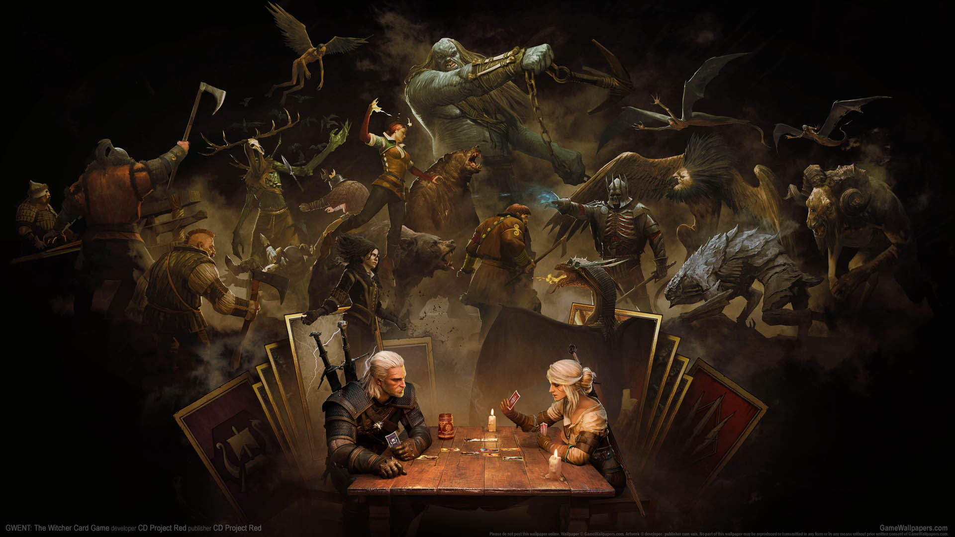 GWENT: The Witcher Card Game wallpaper 07 1920x1080