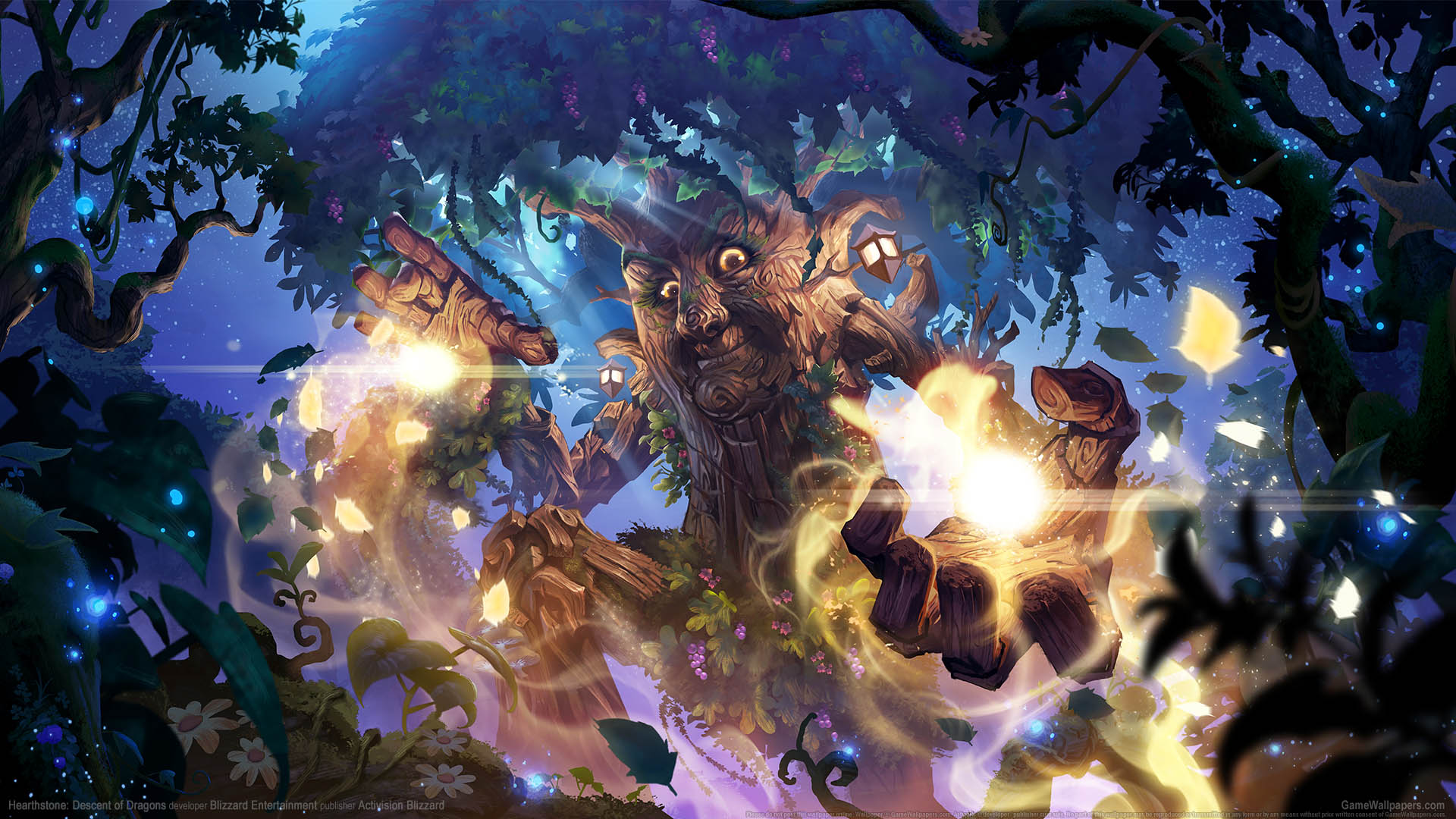 Hearthstone: Descent of Dragons Hintergrundbild 02 1920x1080