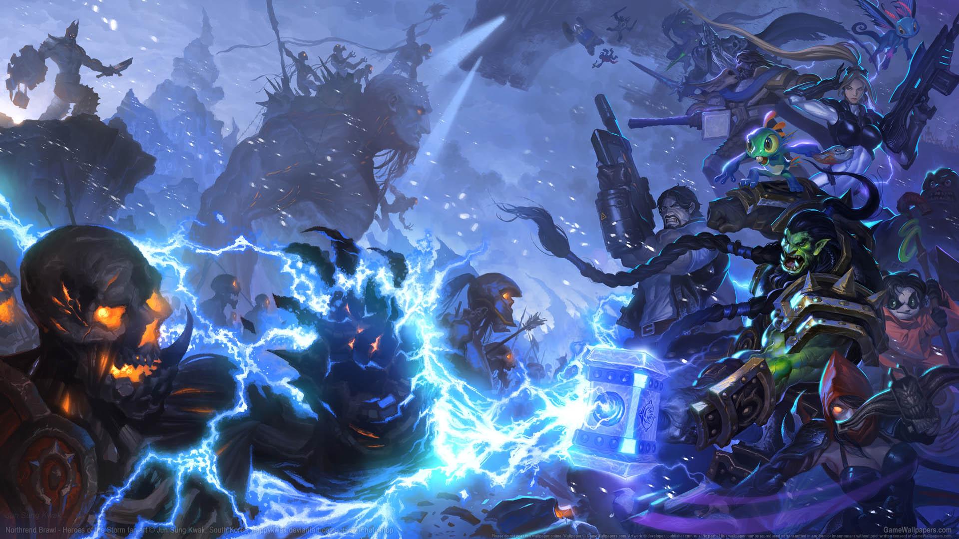 Heroes Of The Storm Fan Art Wallpaper 08 1920x1080
