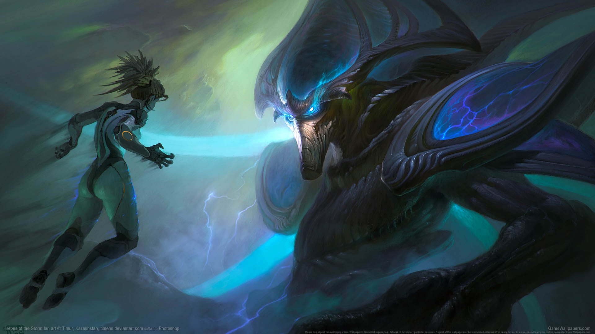 Heroes of the Storm fan art achtergrond 09 1920x1080