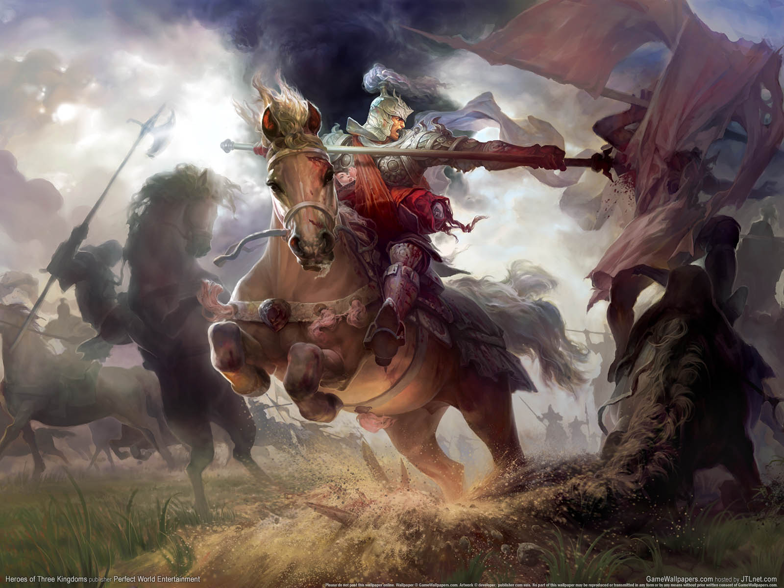 Heroes of Three Kingdomsνmmer=01 achtergrond  1600x1200