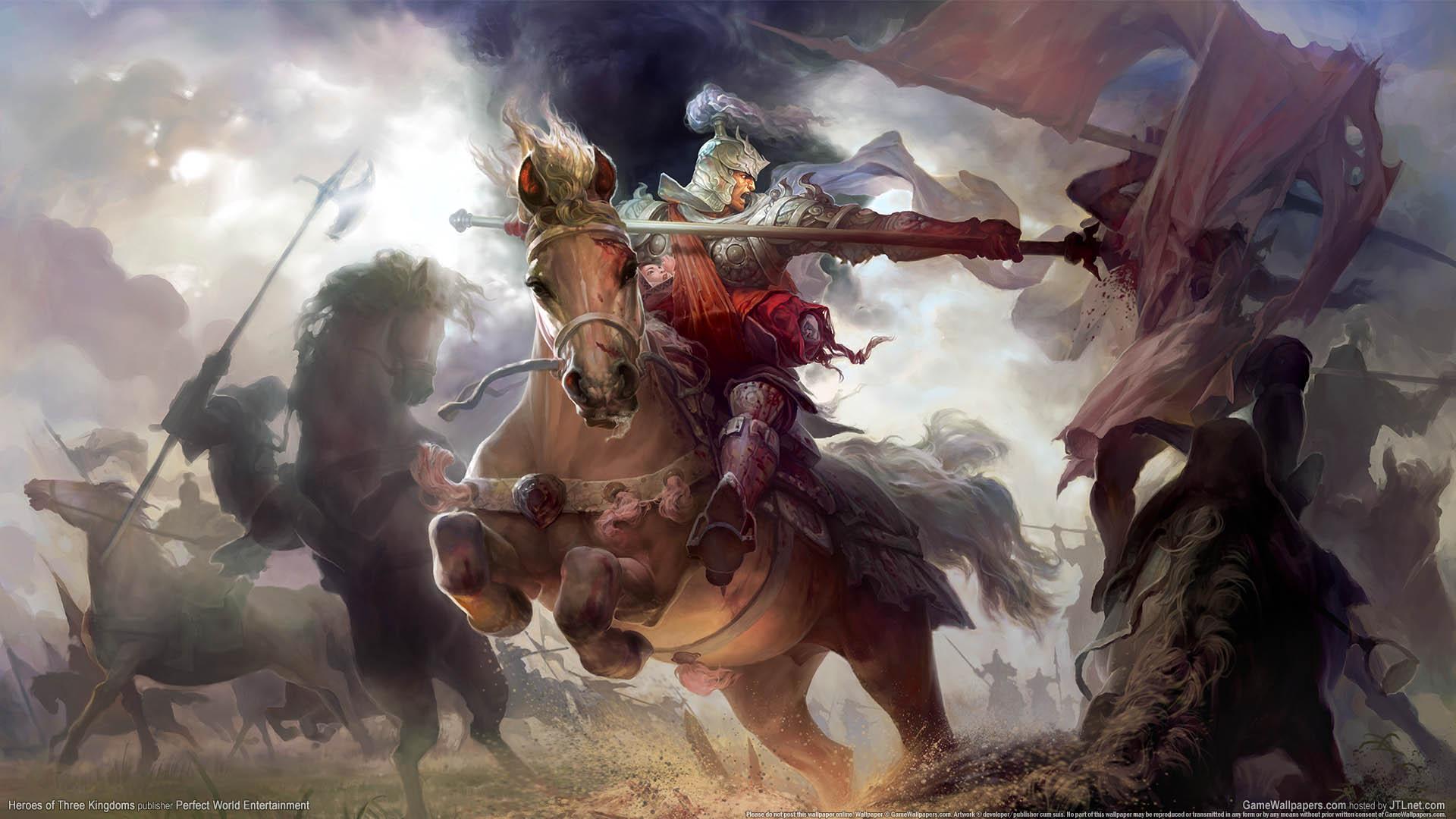 Heroes of Three Kingdoms achtergrond 01 1920x1080