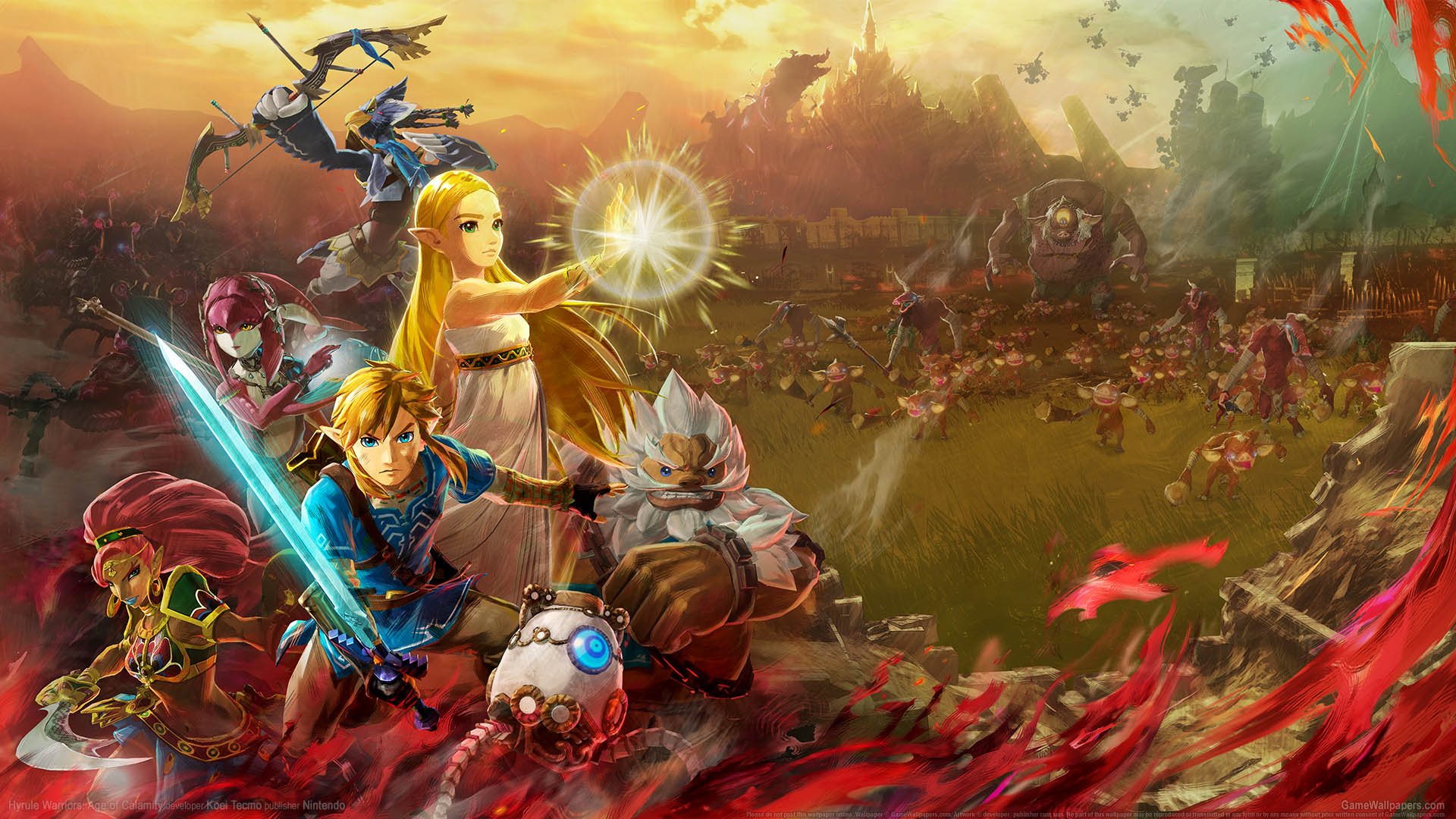 Hyrule Warriors: Age of Calamity wallpaper 01 1920x1080