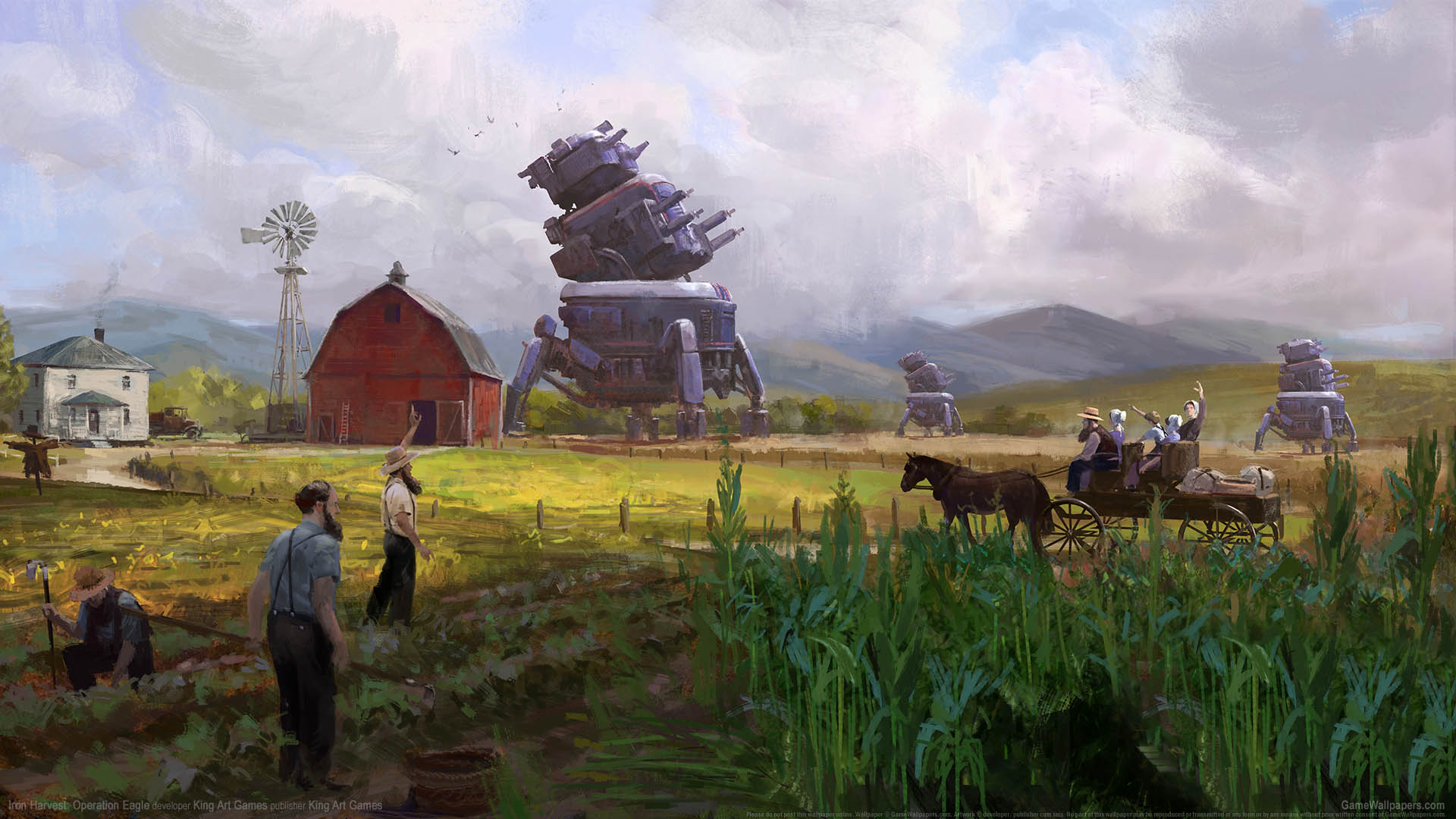 Iron Harvest: Operation Eagle wallpaper 01 1920x1080