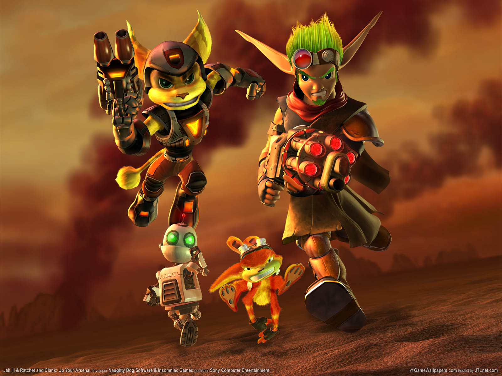 Jak 3 Ratchet And Clank Up Your Arsenal Wallpaper 01 1600x1200