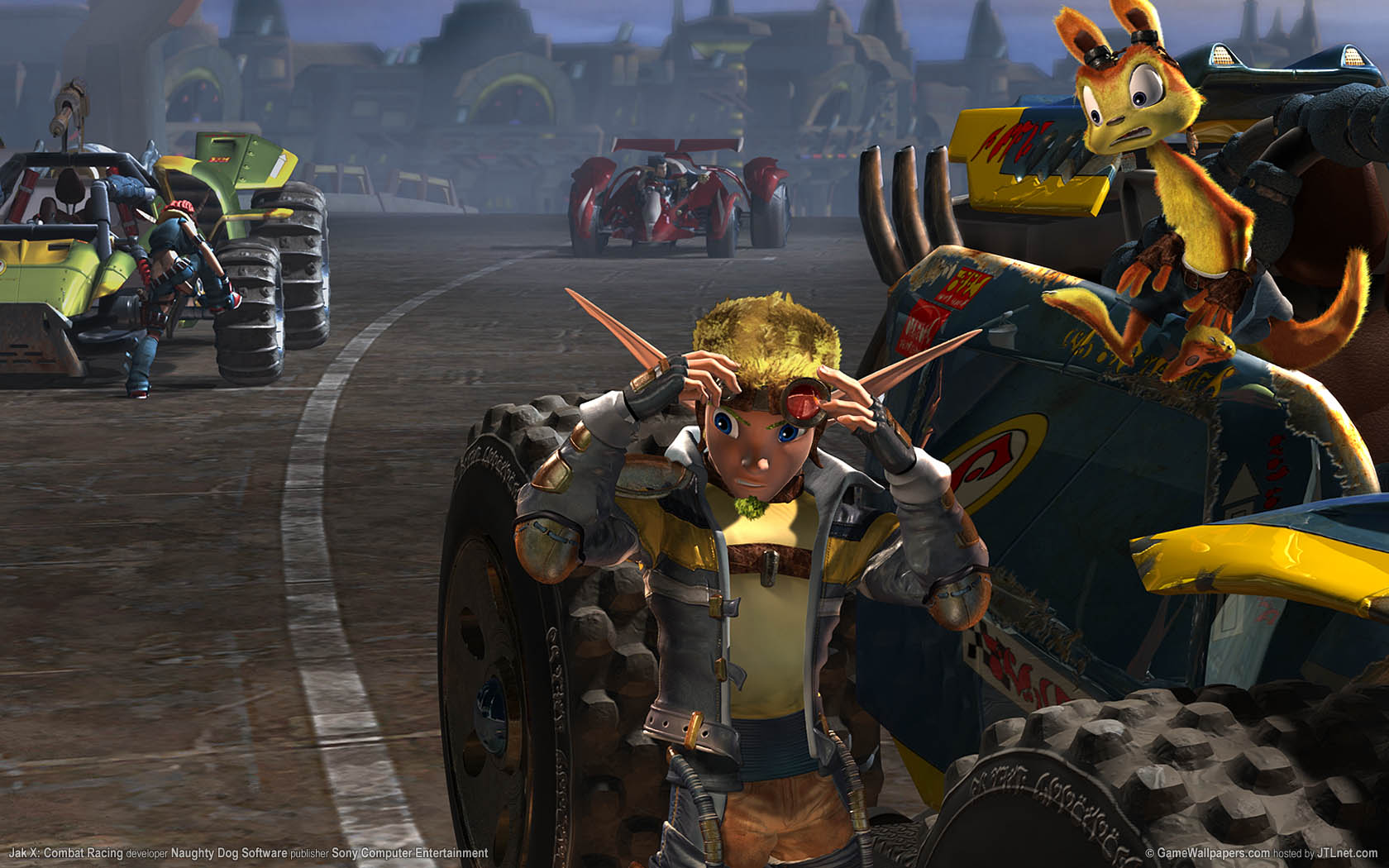 Jak X: Combat Racing Hintergrundbild 01 1680x1050