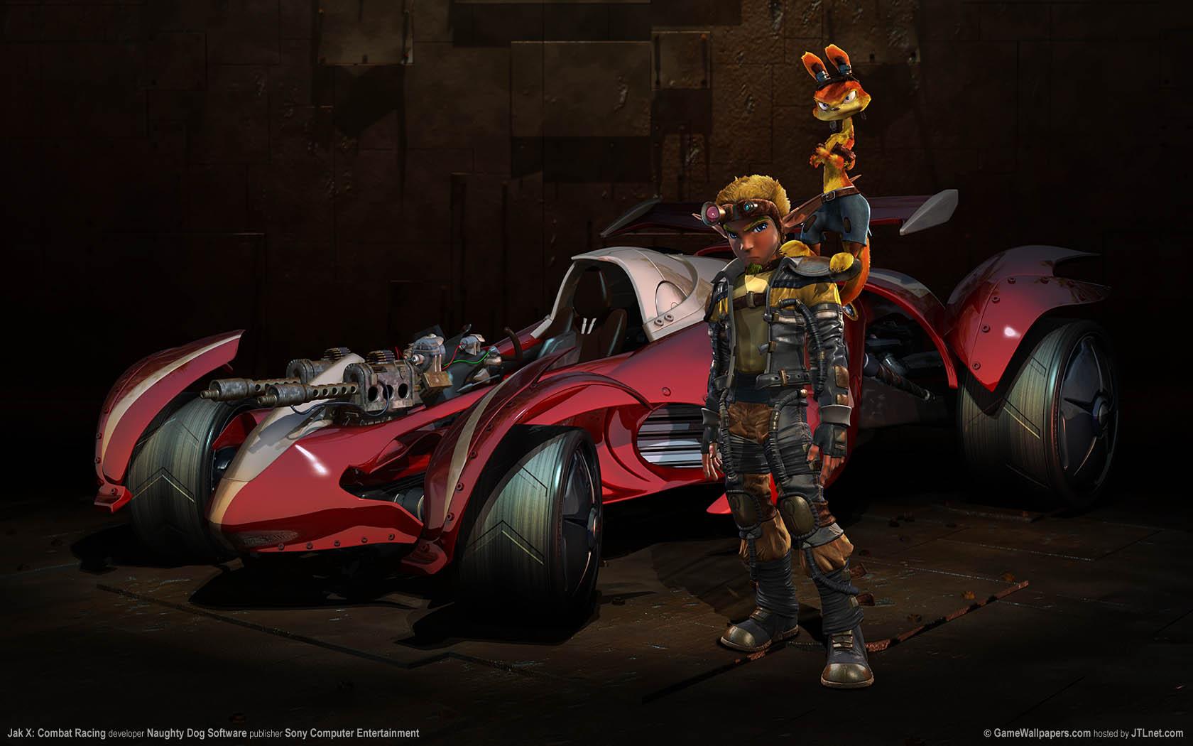 Jak X: Combat Racing Hintergrundbild 02 1680x1050