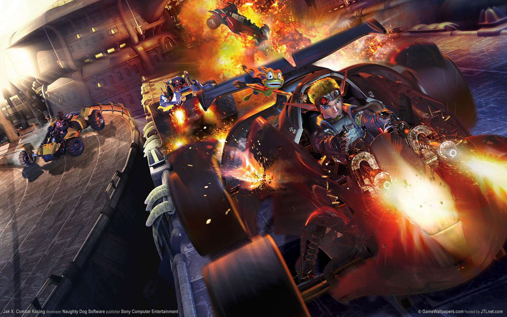 Jak X: Combat Racing Hintergrundbild 04 1680x1050