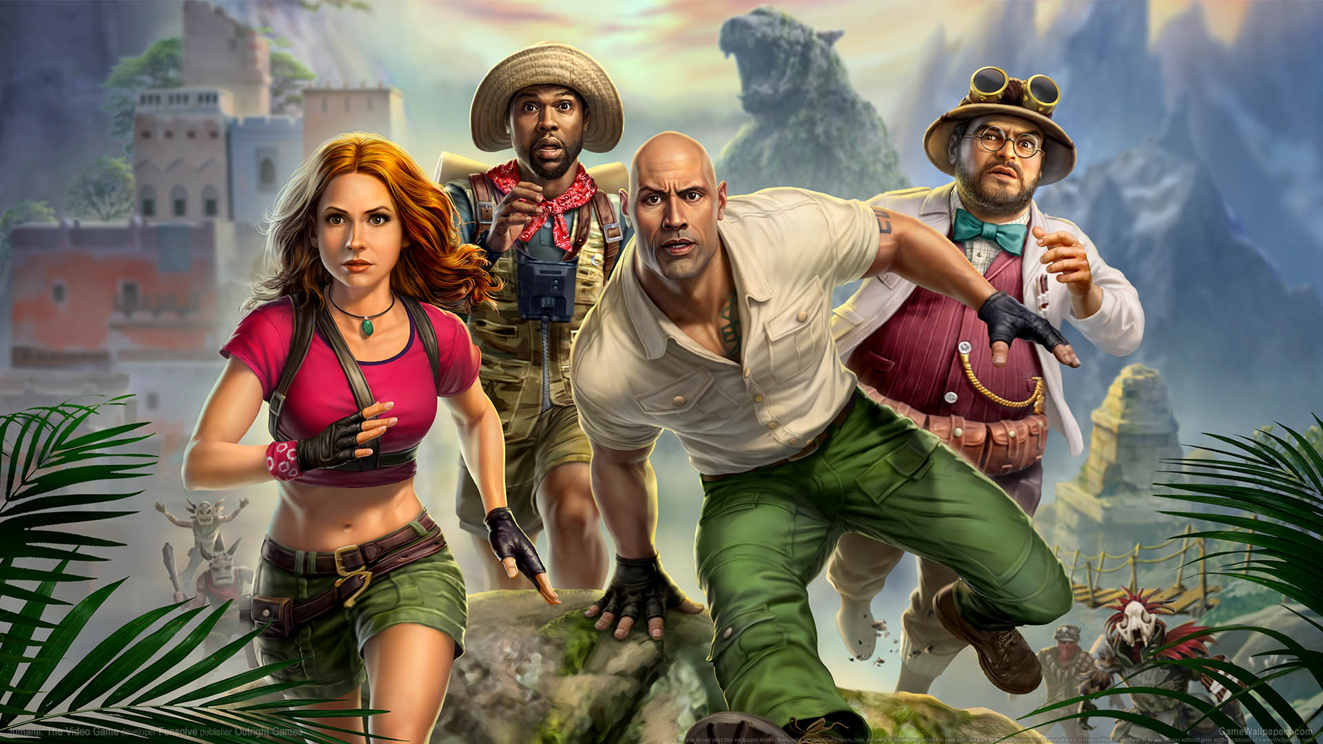 Jumanji: The Video Game achtergrond 01 1920x1080