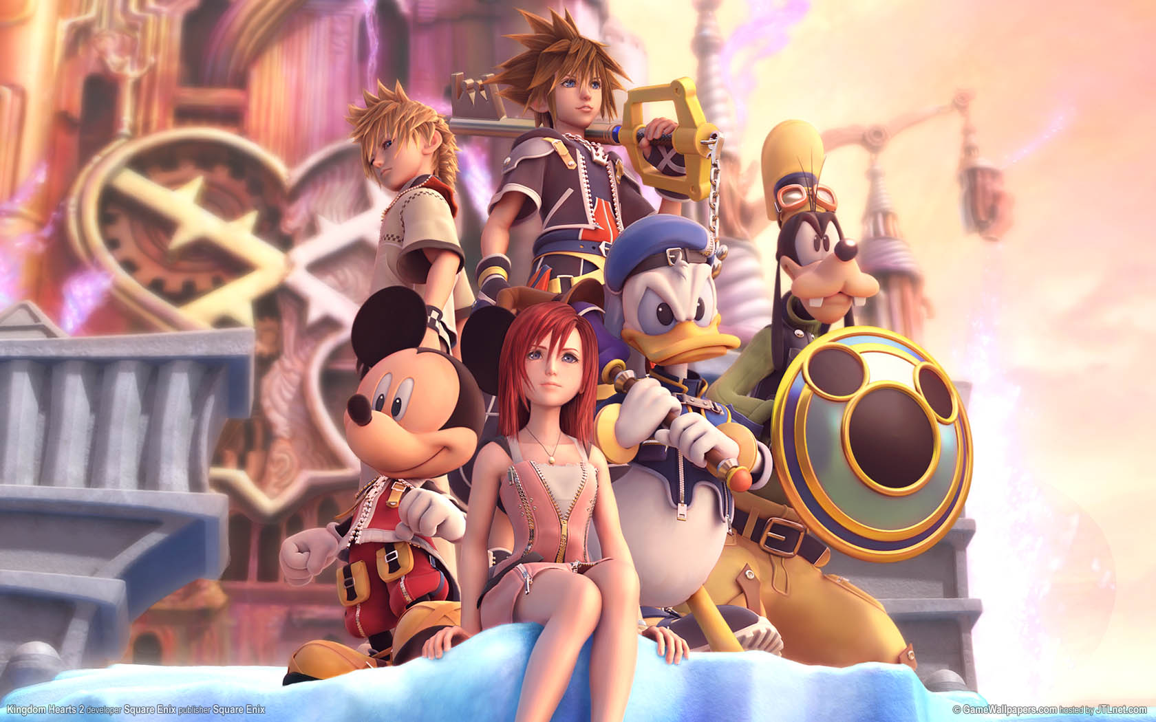 Kingdom Hearts 2 achtergrond 01 1680x1050