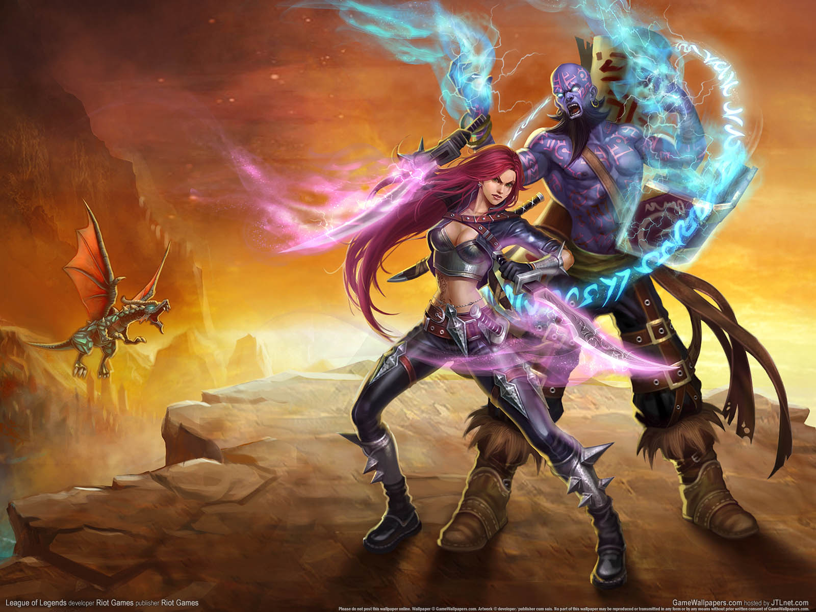 League of Legendsνmmer=01 achtergrond  1600x1200
