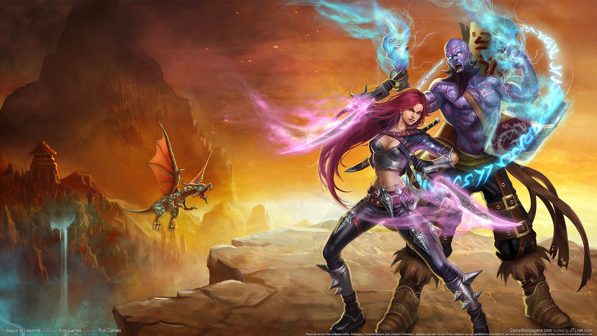 League of Legends Hintergrundbild 01 1920x1080