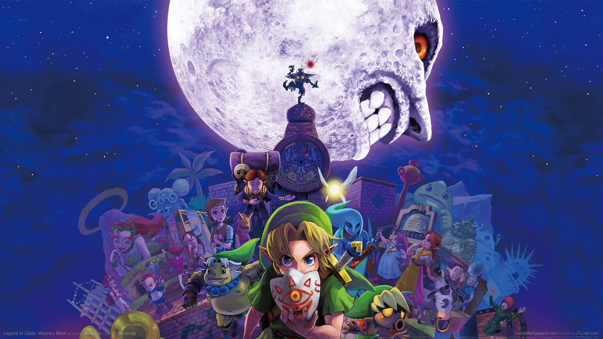 Legend of Zelda: Majora's Mask wallpaper 01 1920x1080