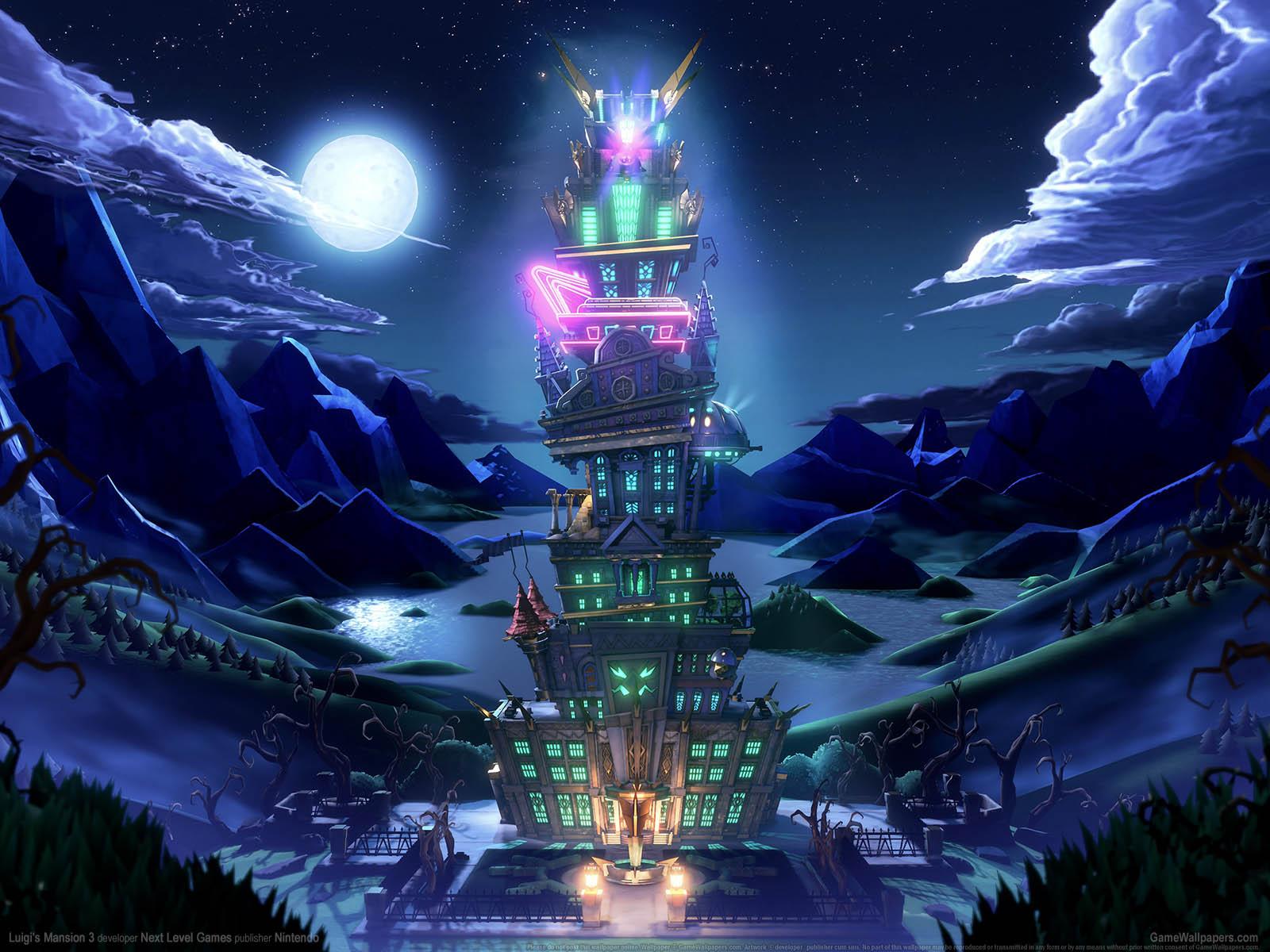 Luigi's Mansion 3νmmer=01 Hintergrundbild  1600x1200
