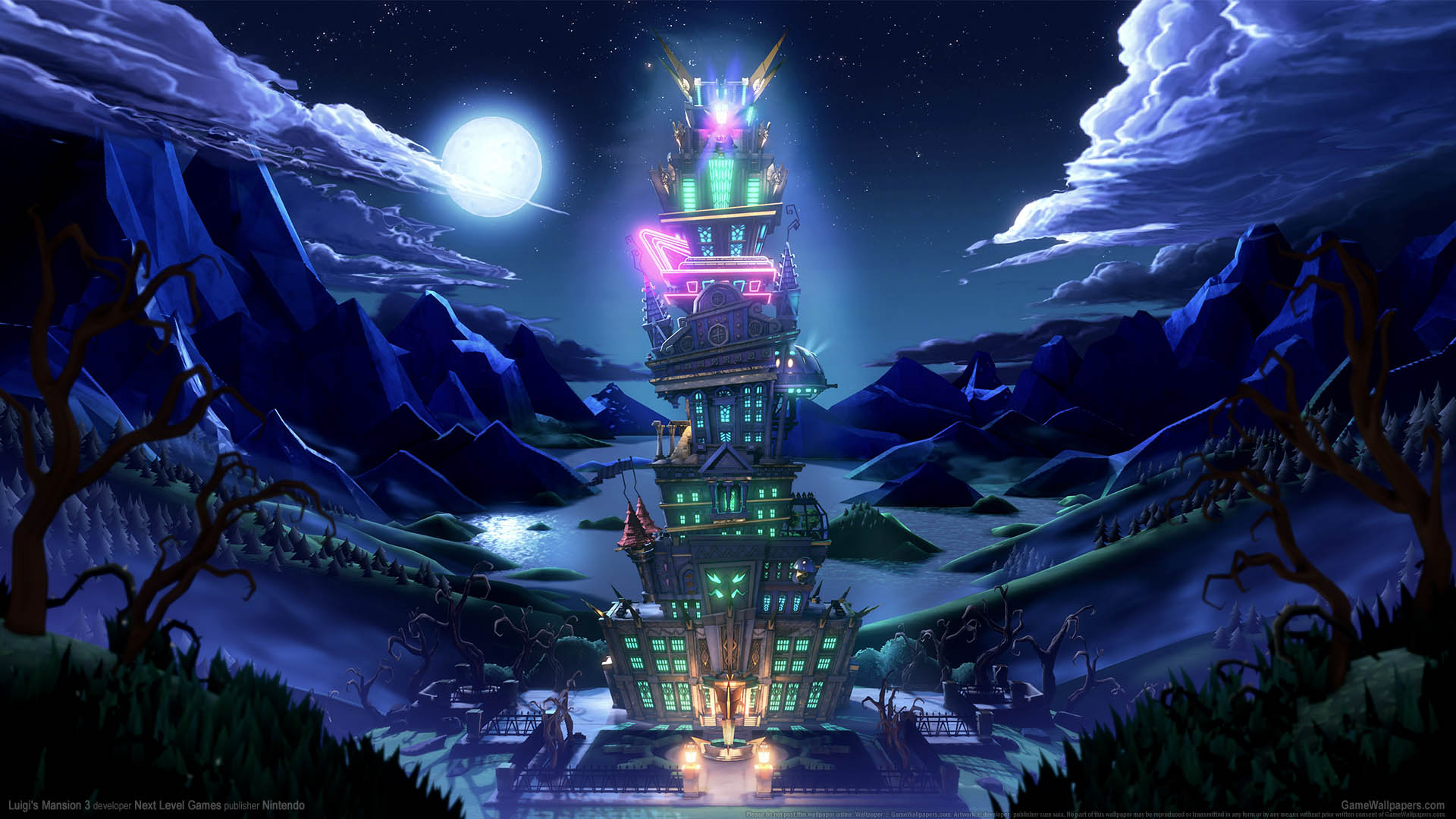 Luigi's Mansion 3 wallpaper 01 1920x1080