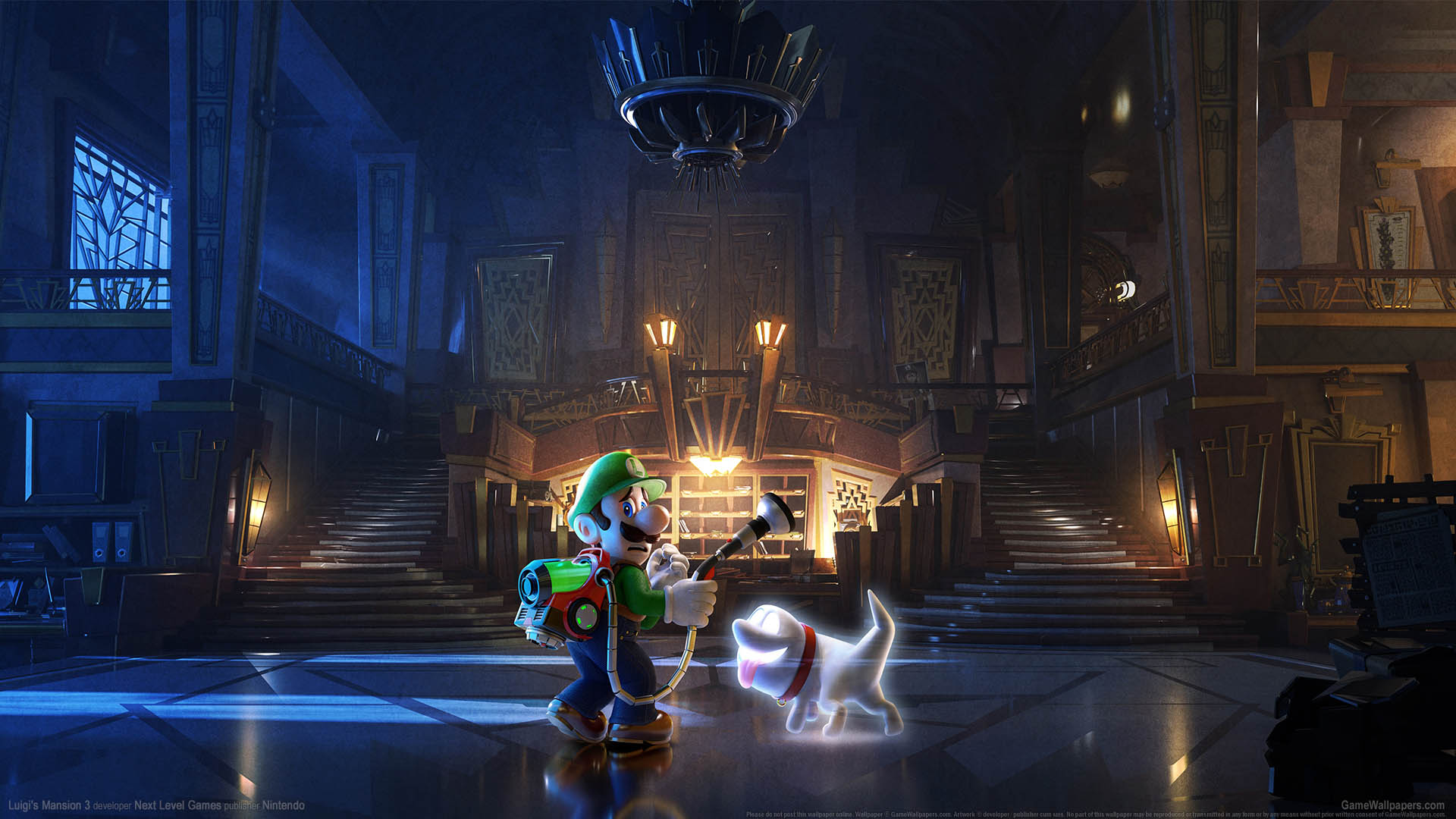 Luigi's Mansion 3 wallpaper 02 1920x1080