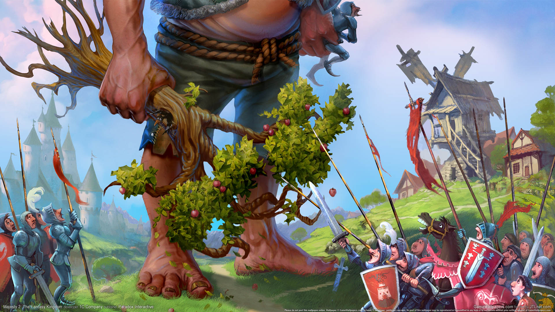 Majesty 2: The Fantasy Kingdom Sim Hintergrundbild 01 1920x1080