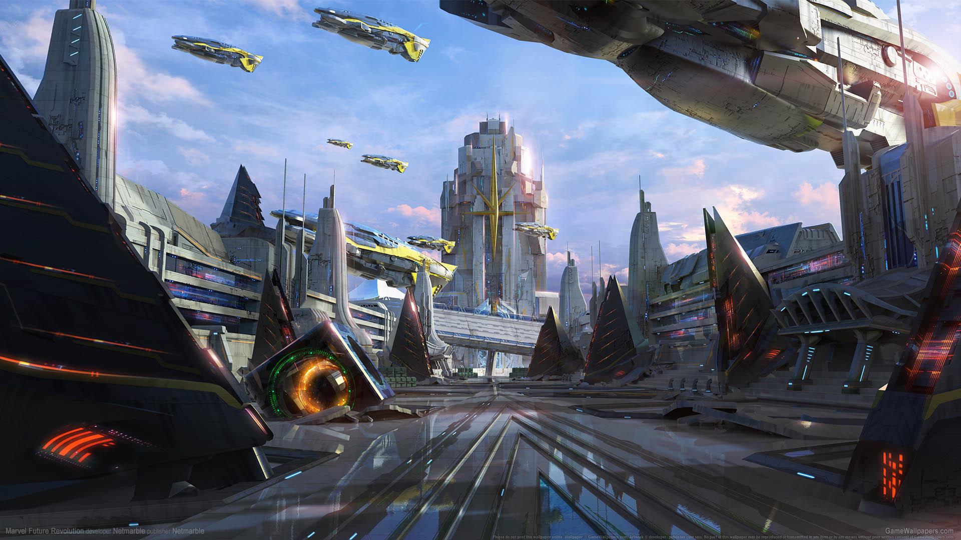Marvel Future Revolution fond d'écran 01 1920x1080