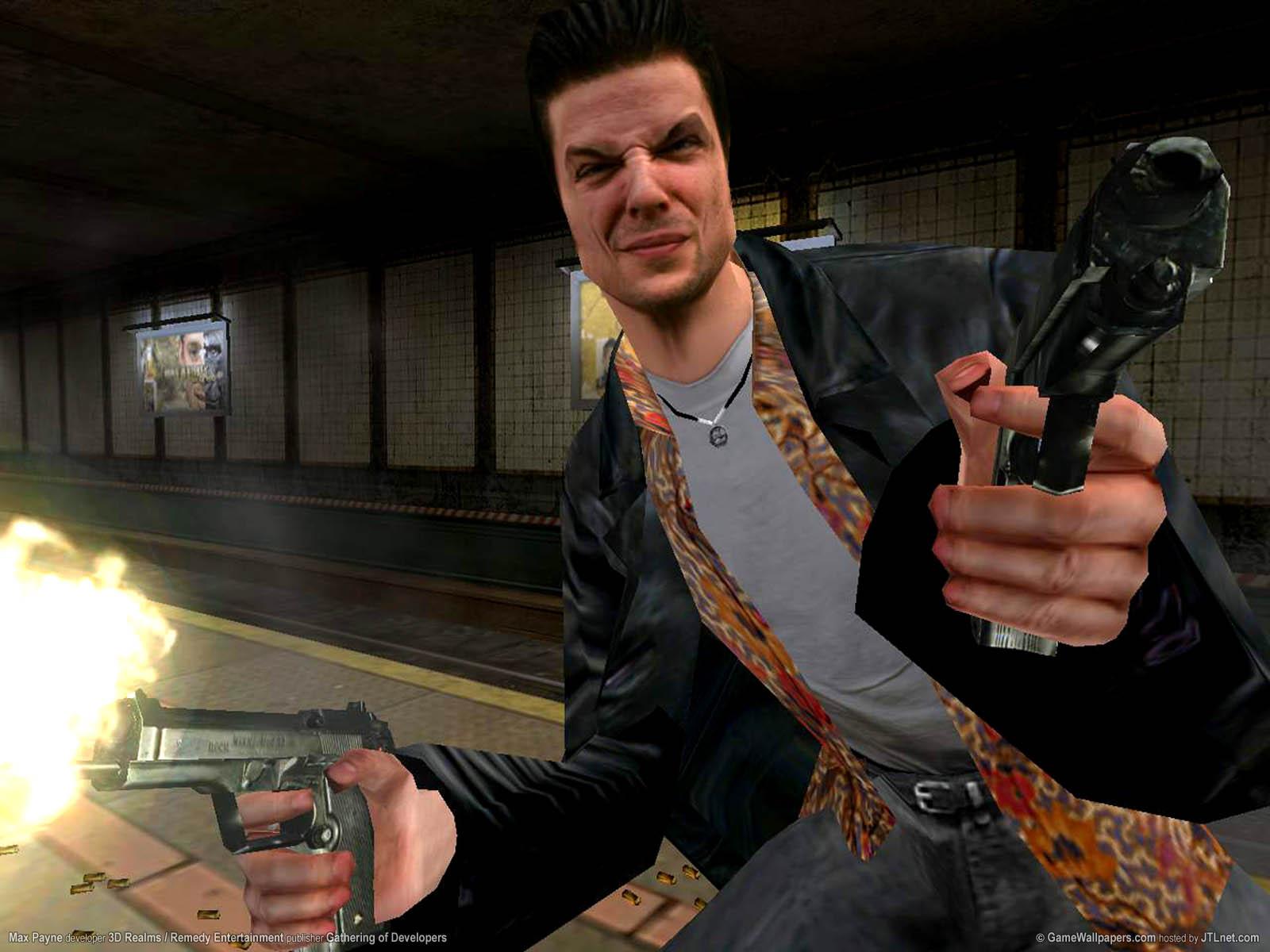 Max Payne wallpaper 01 1600x1200