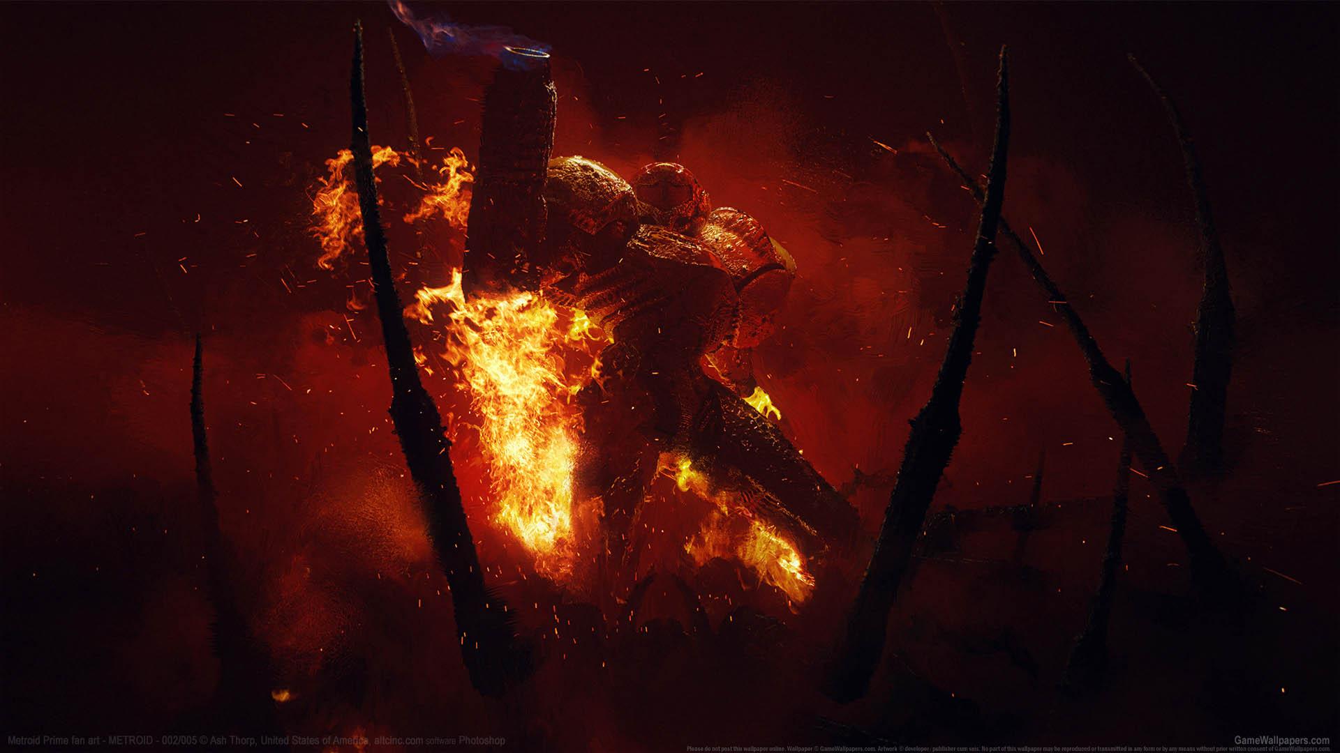 Metroid Prime fan art Hintergrundbild 01 1920x1080