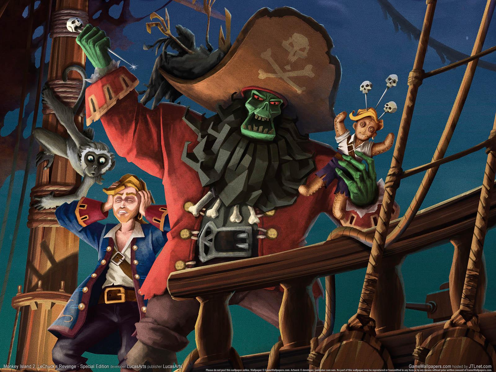 Monkey Island  Lechuck S Revenge