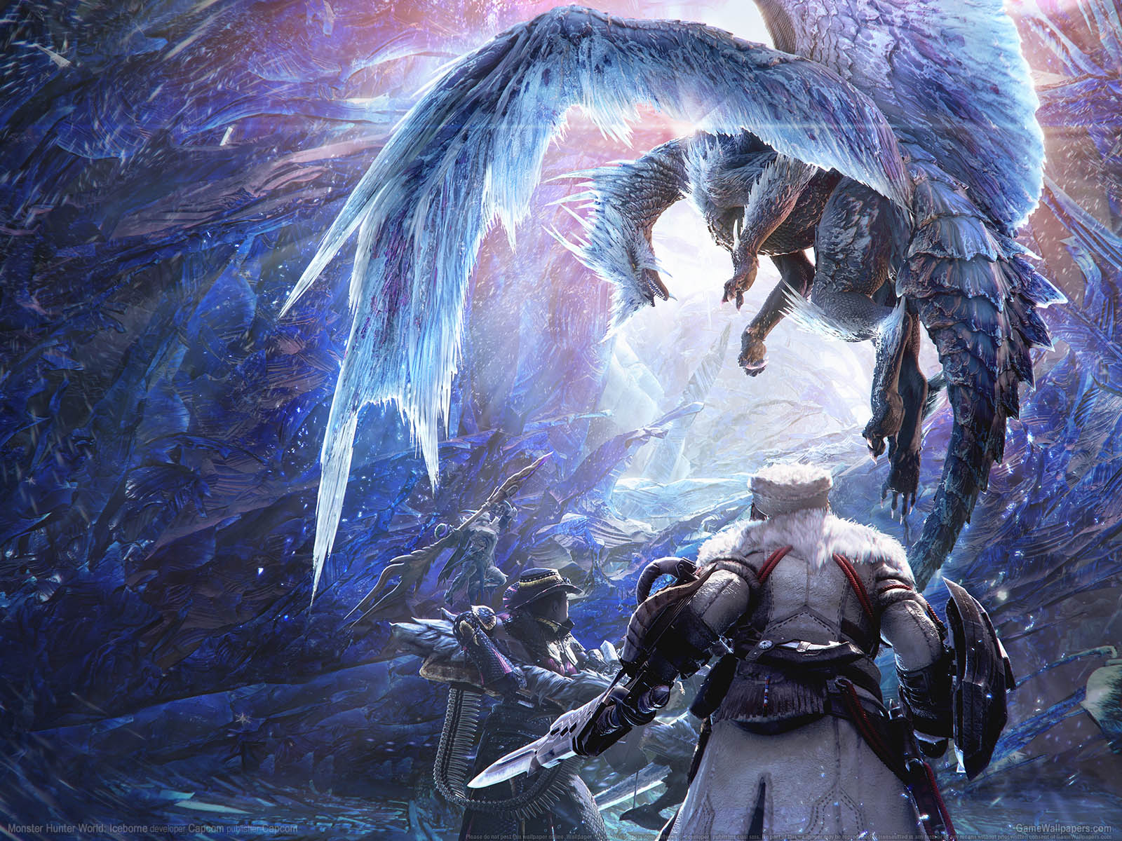 Monster Hunter World: Iceborneνmmer=01 wallpaper  1600x1200