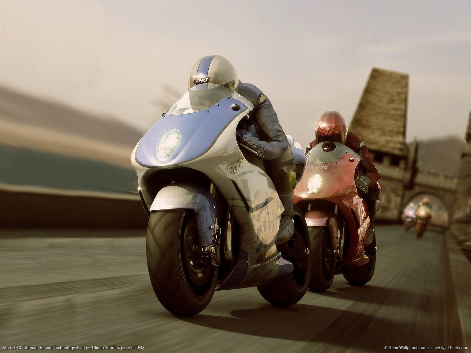 MotoGP 3: Ultimate Racing Technology achtergrond 02 1600x1200