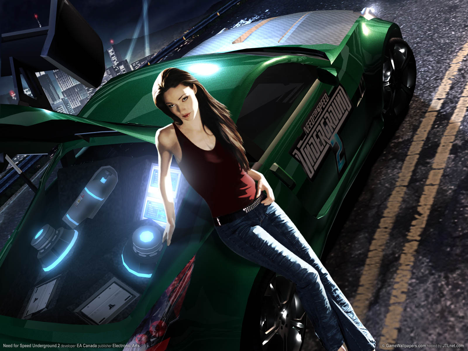 Need For Speed Underground 2 Wallpaper Or Background 01