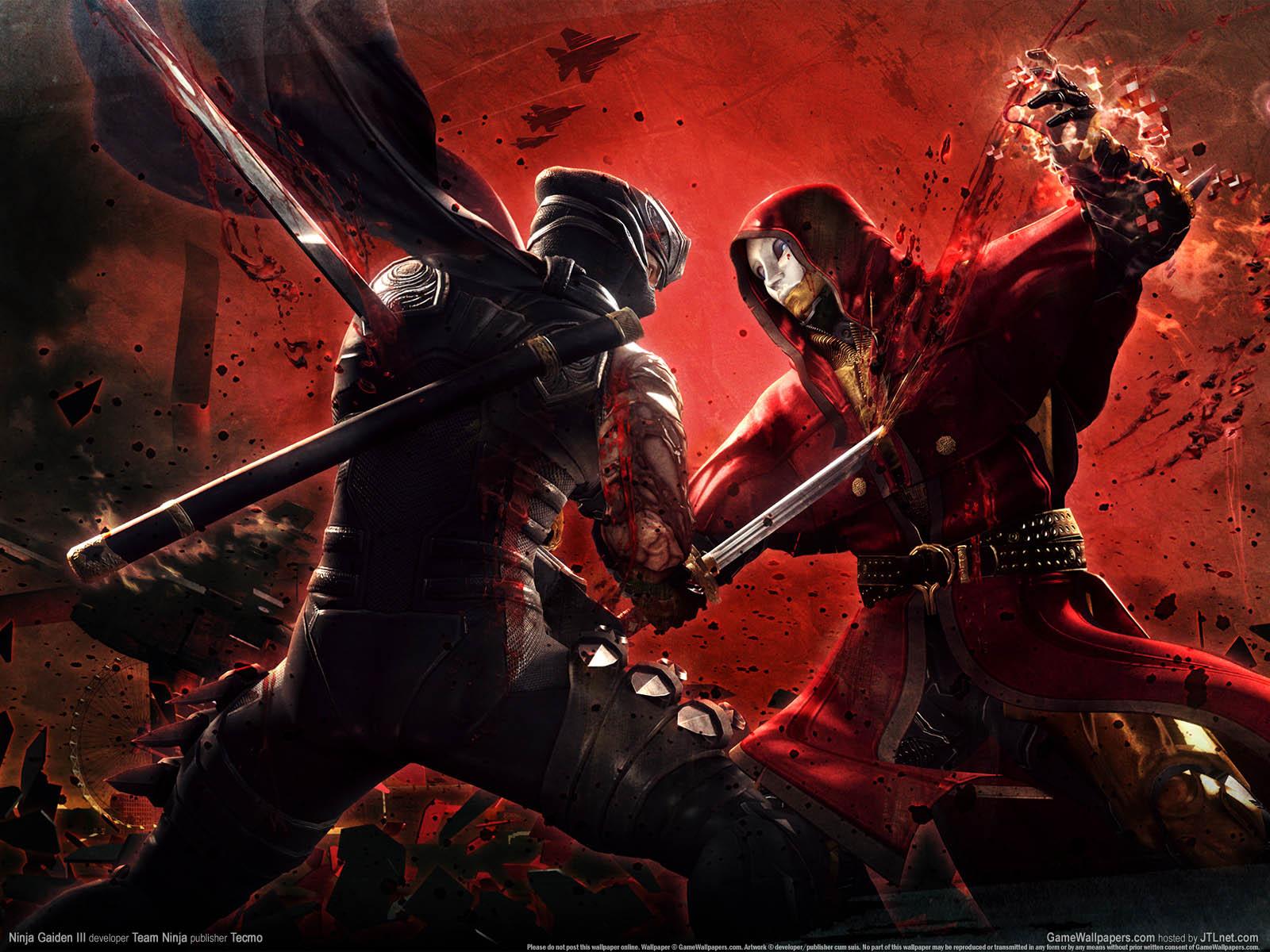 Ninja Gaiden 3νmmer=02 achtergrond  1600x1200