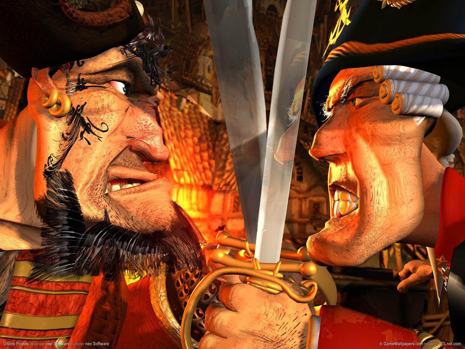 Online Pirates wallpaper 01 1600x1200