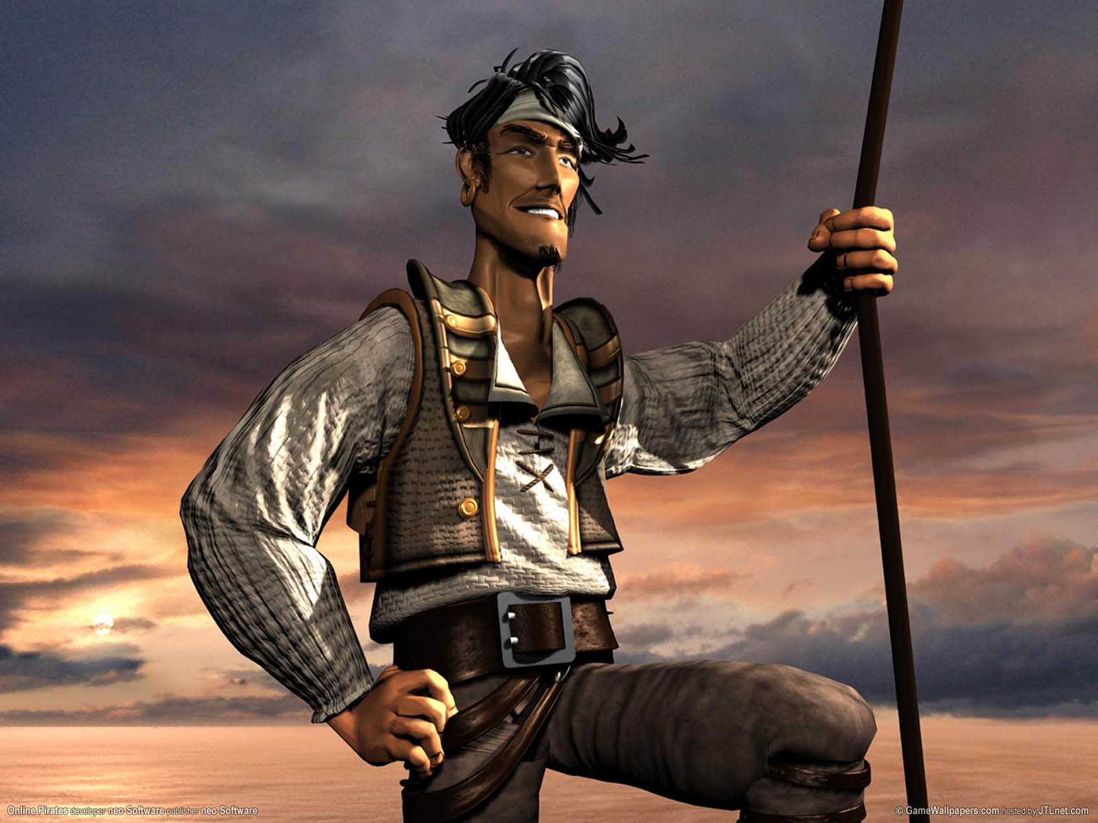 Online Pirates wallpaper 02 1600x1200