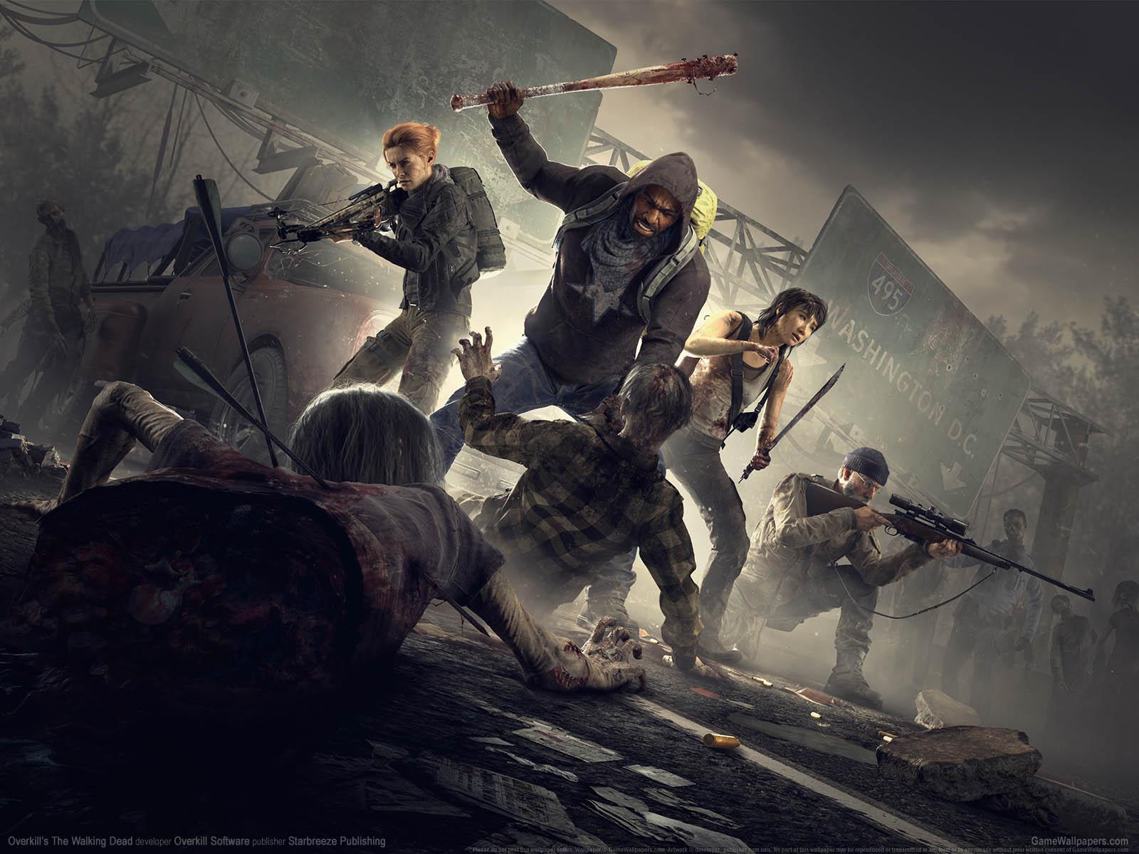 Overkill's The Walking Deadνmmer=01 Hintergrundbild  1600x1200