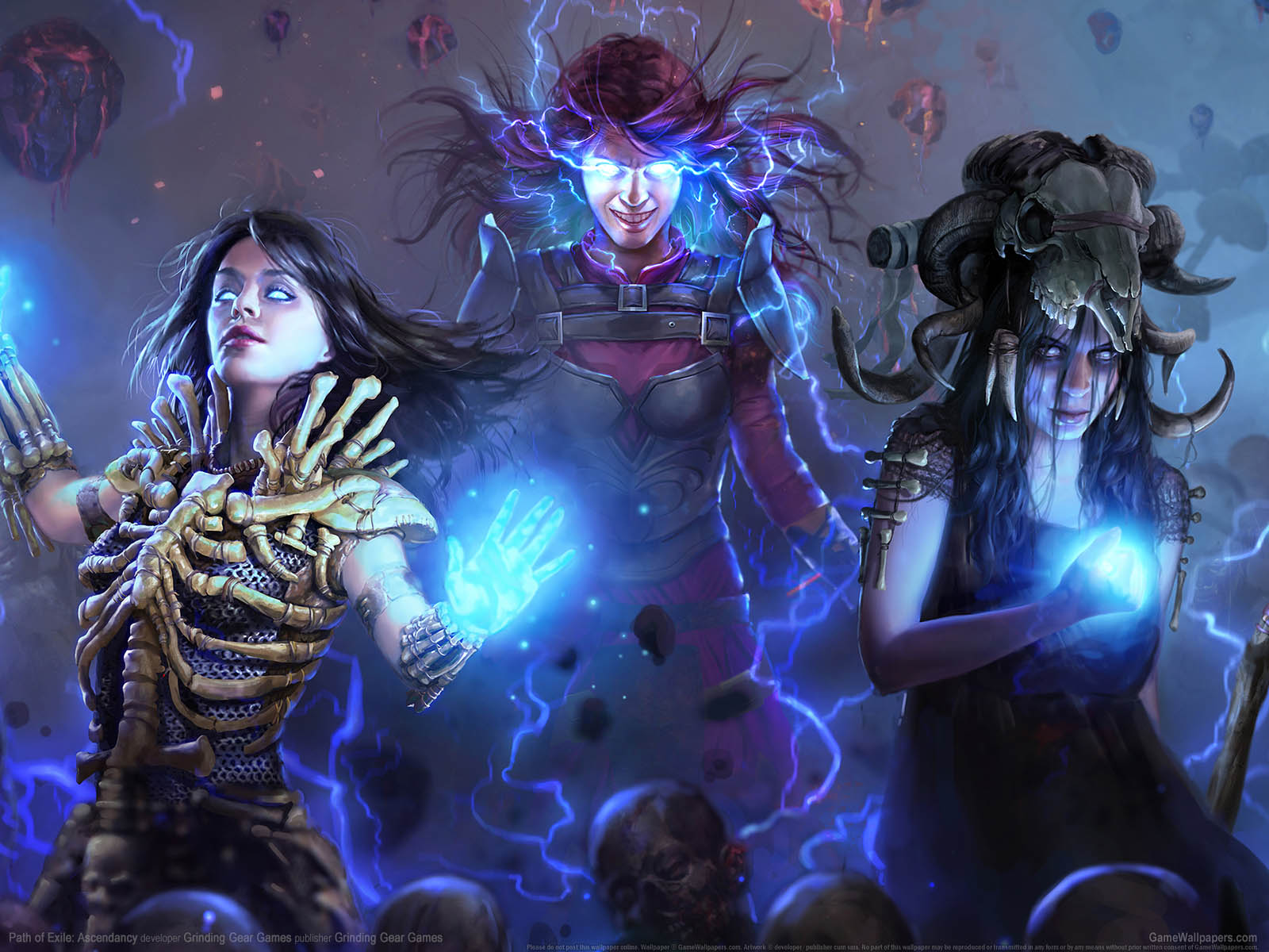 Path of Exile: Ascendancyνmmer=01 Hintergrundbild  1600x1200