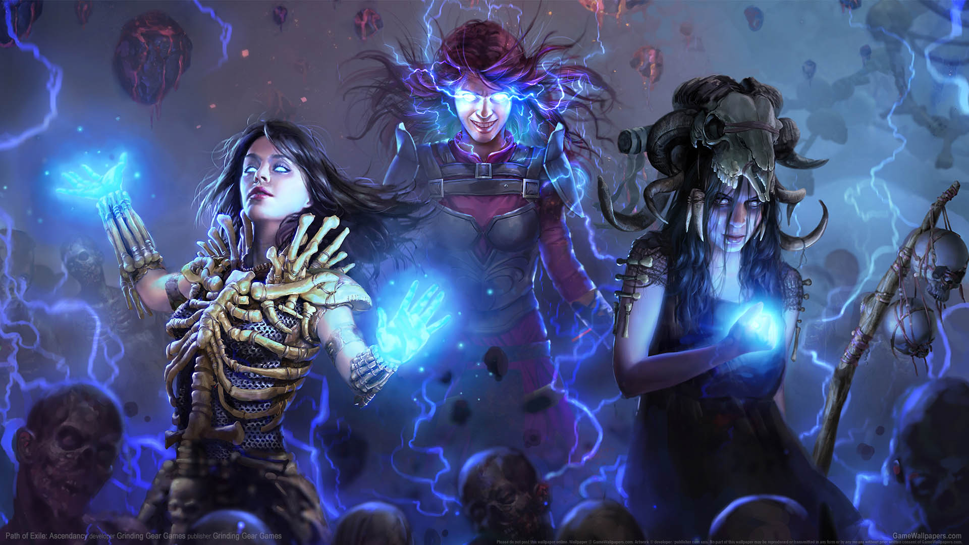 Path of Exile: Ascendancy wallpaper 01 1920x1080
