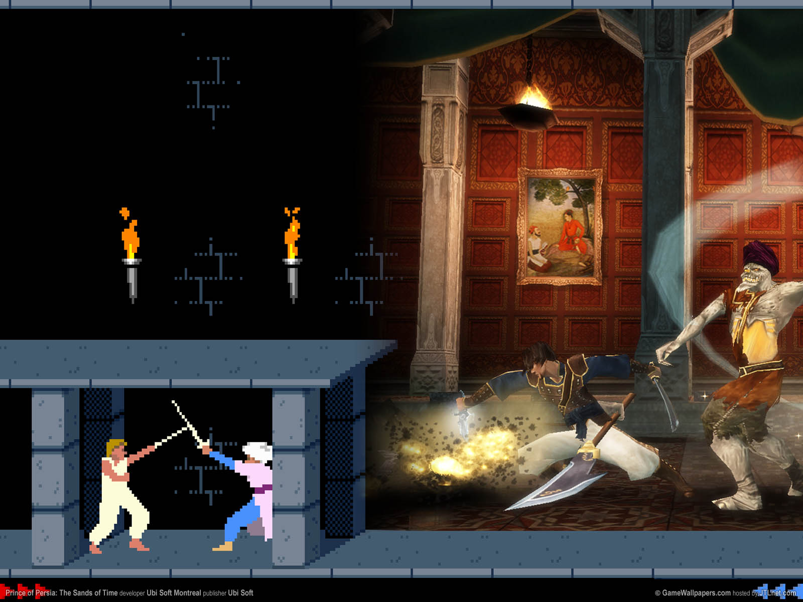 Prince of Persia: The Sands of Time Hintergrundbild 05 1600x1200