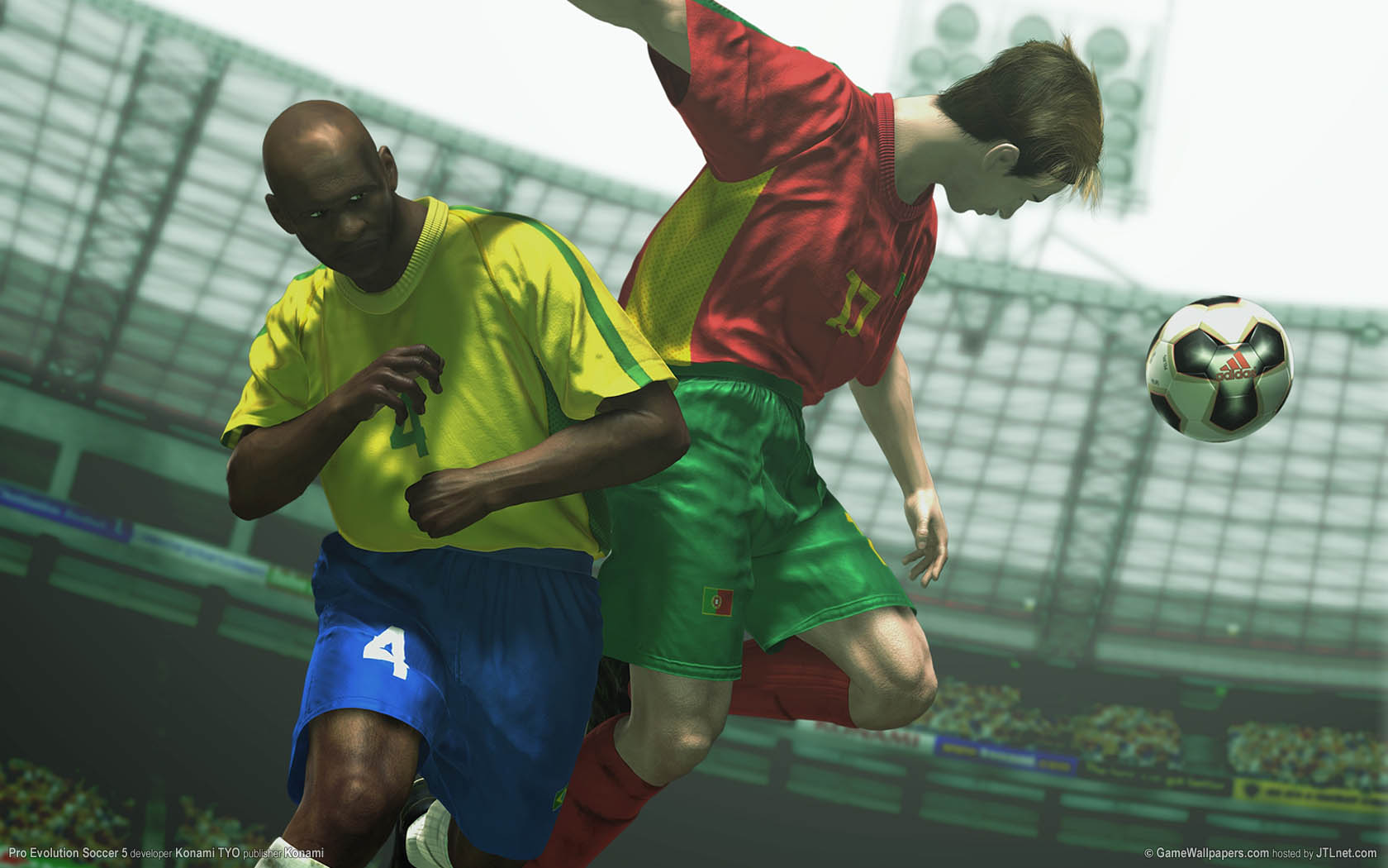 Pro Evolution Soccer 5 wallpaper 01 1680x1050