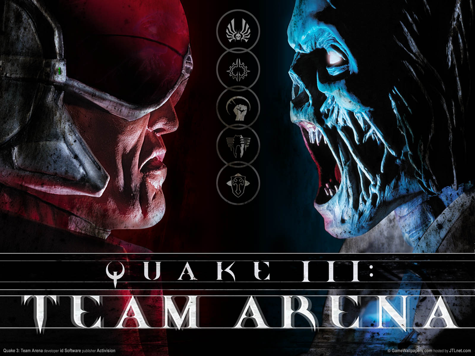 Quake 3: Team Arenaνmmer=01 achtergrond  1600x1200