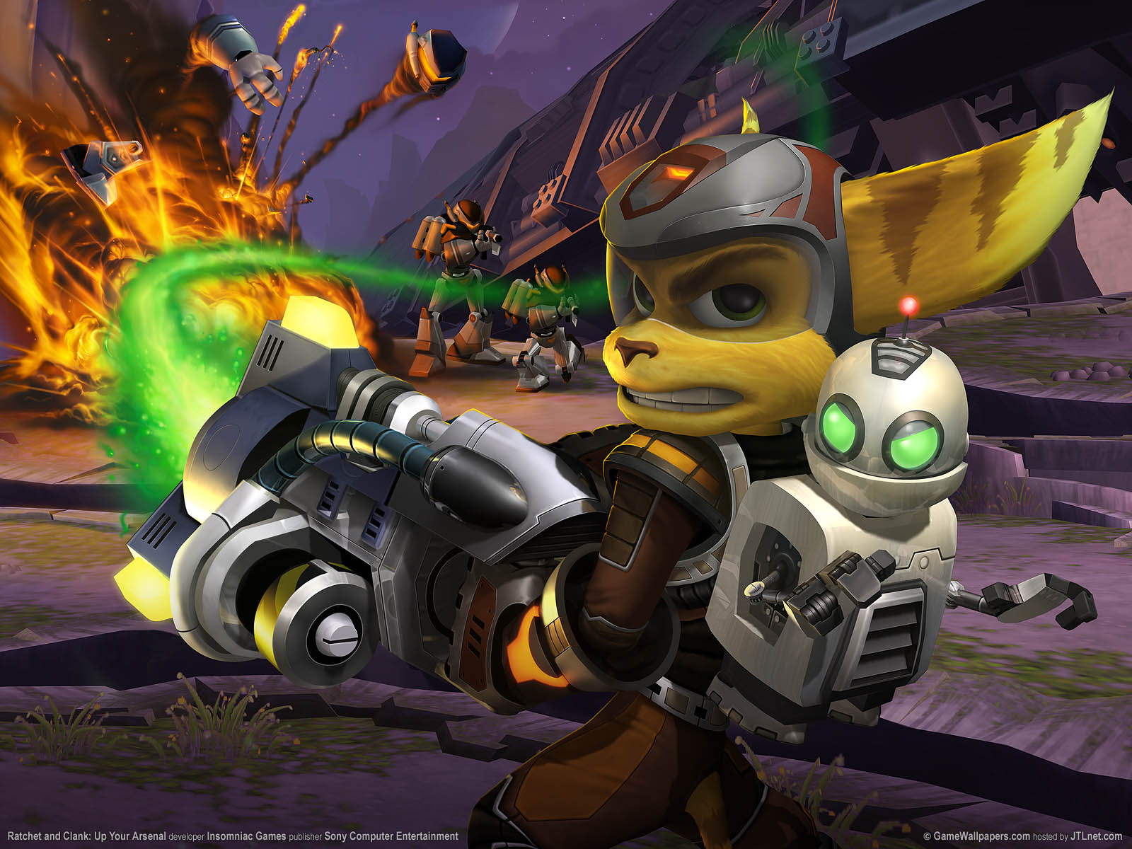 Ratchet and Clank: Up Your Arsenal Hintergrundbild 01 1600x1200