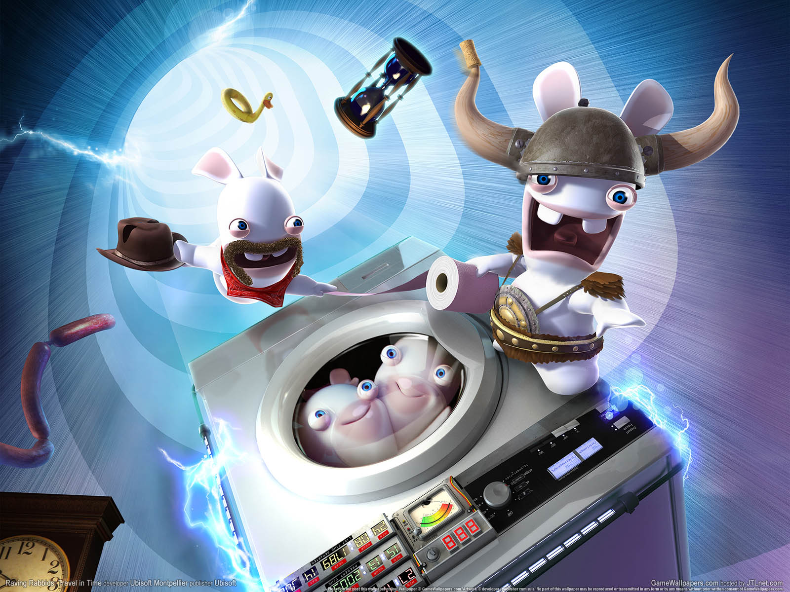 Raving Rabbids: Travel in Timeνmmer=02 achtergrond  1600x1200