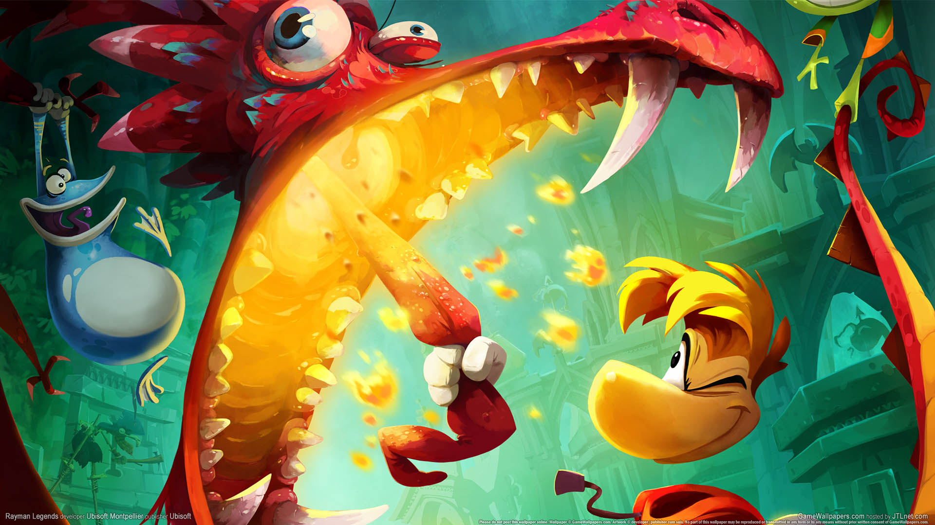 Cool Art Backgrounds For Rayman