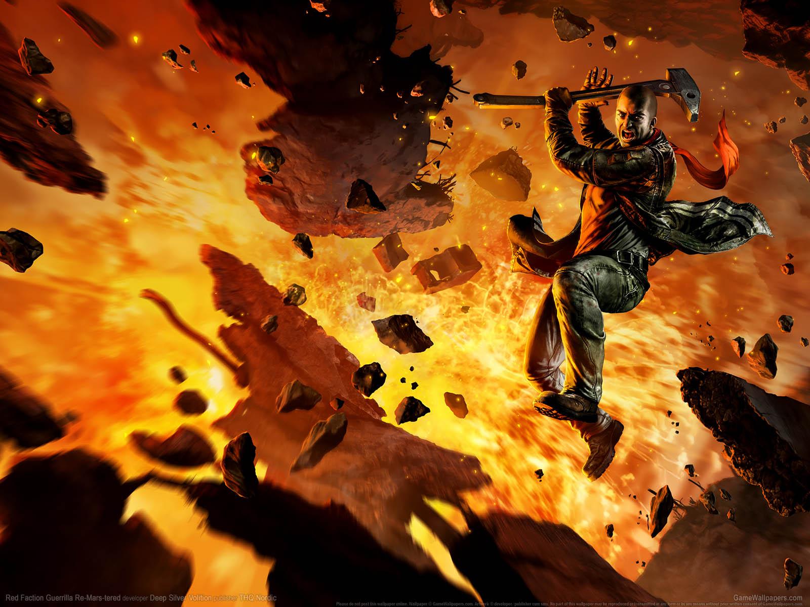 Red Faction: Guerrilla Re-Mars-teredνmmer=01 achtergrond  1600x1200