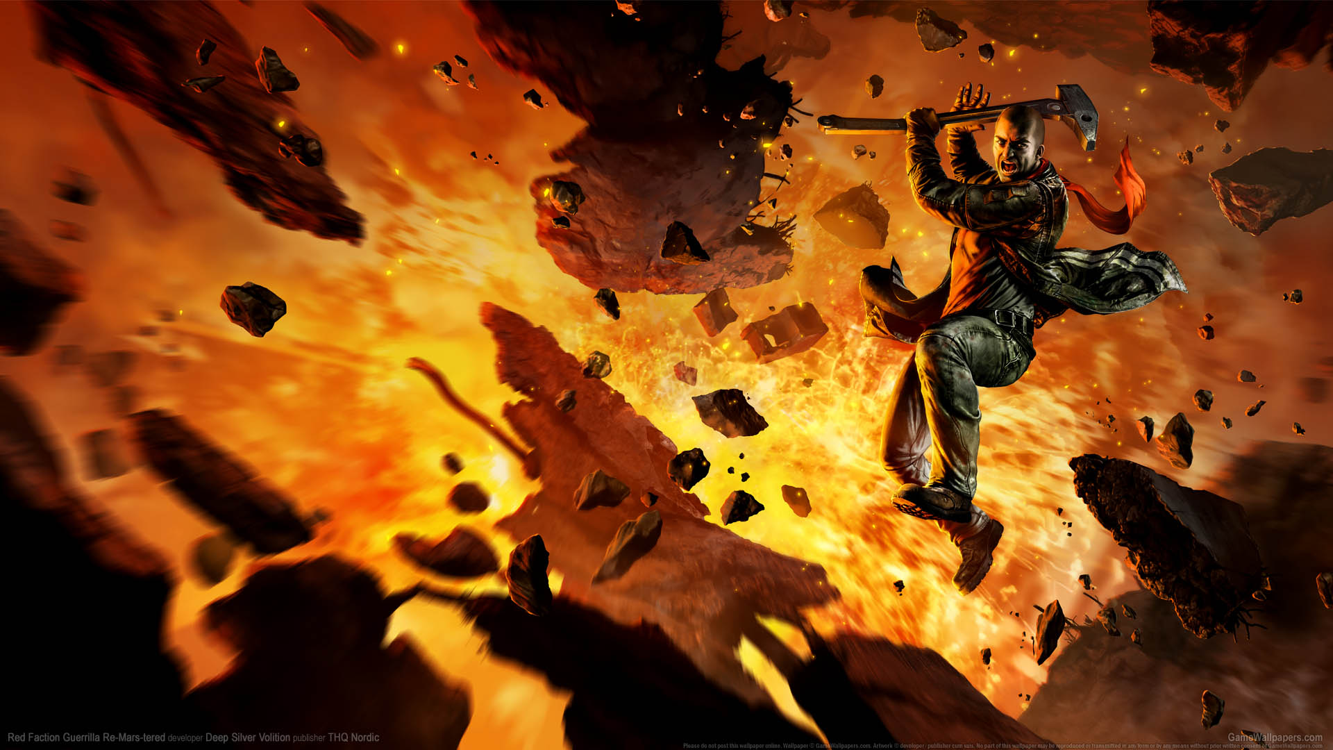 Red Faction: Guerrilla Re-Mars-tered fond d'écran 01 1920x1080