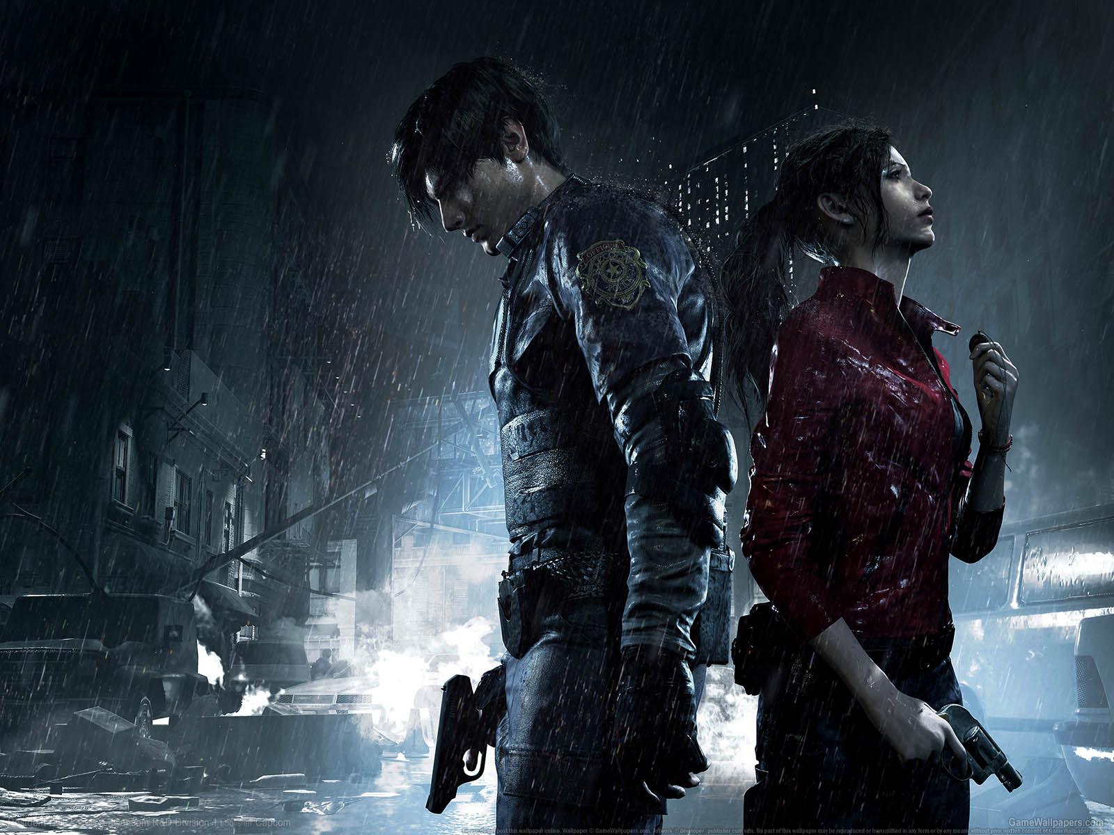 Resident Evil 2νmmer=01 achtergrond  1600x1200