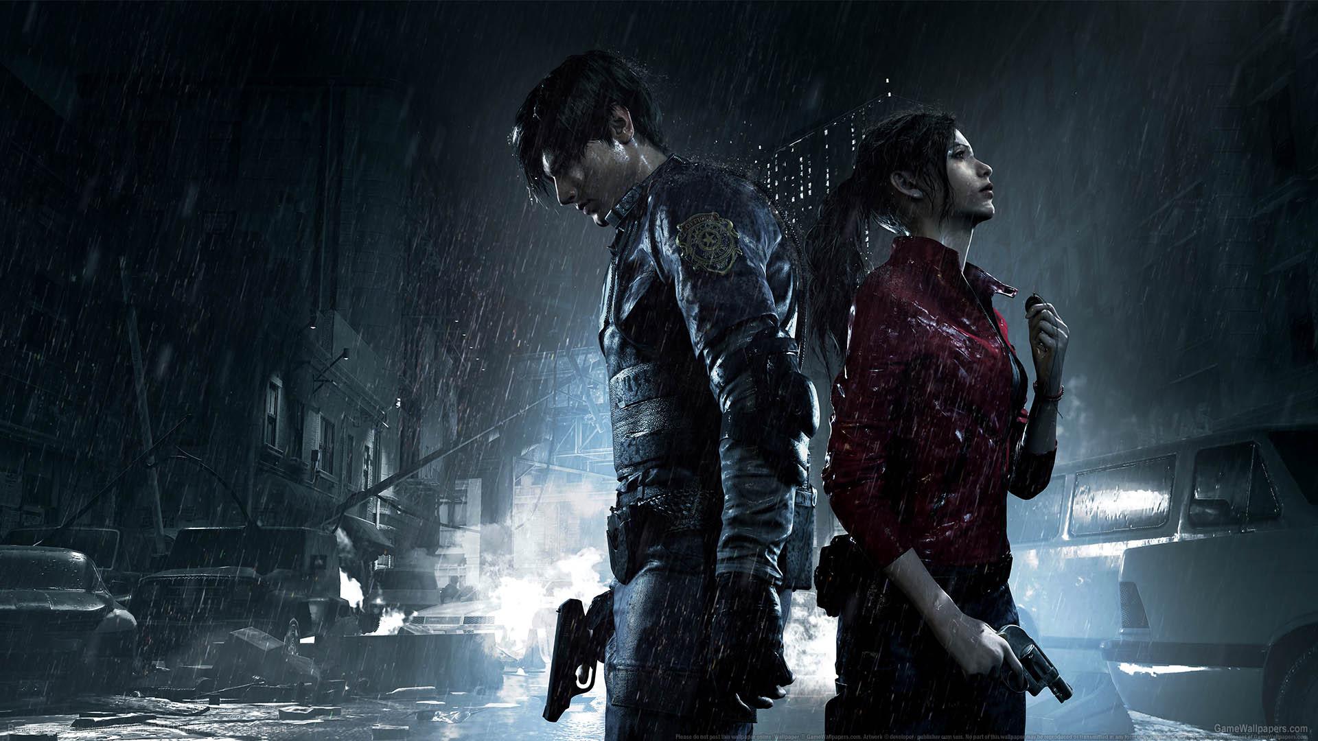 Resident Evil 2 achtergrond 01 1920x1080
