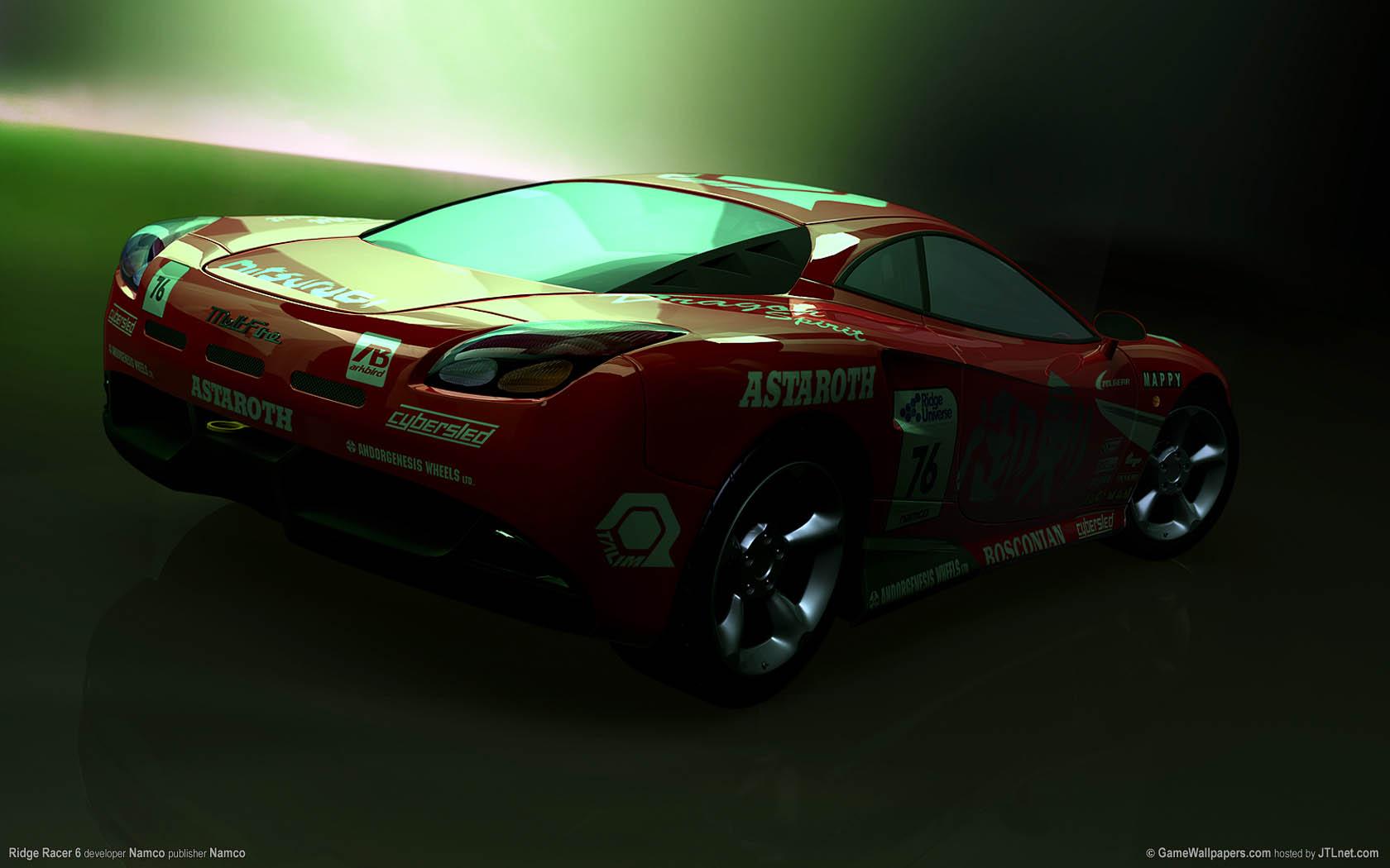 Ridge Racer 6 Hintergrundbild 03 1680x1050