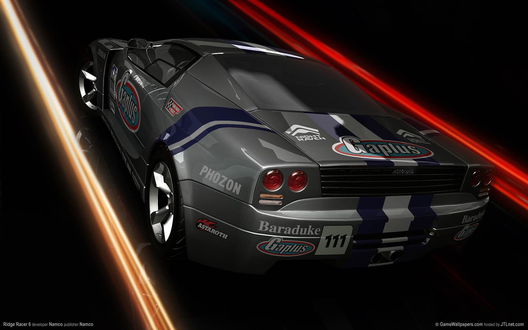 Ridge Racer 6 Hintergrundbild 05 1680x1050