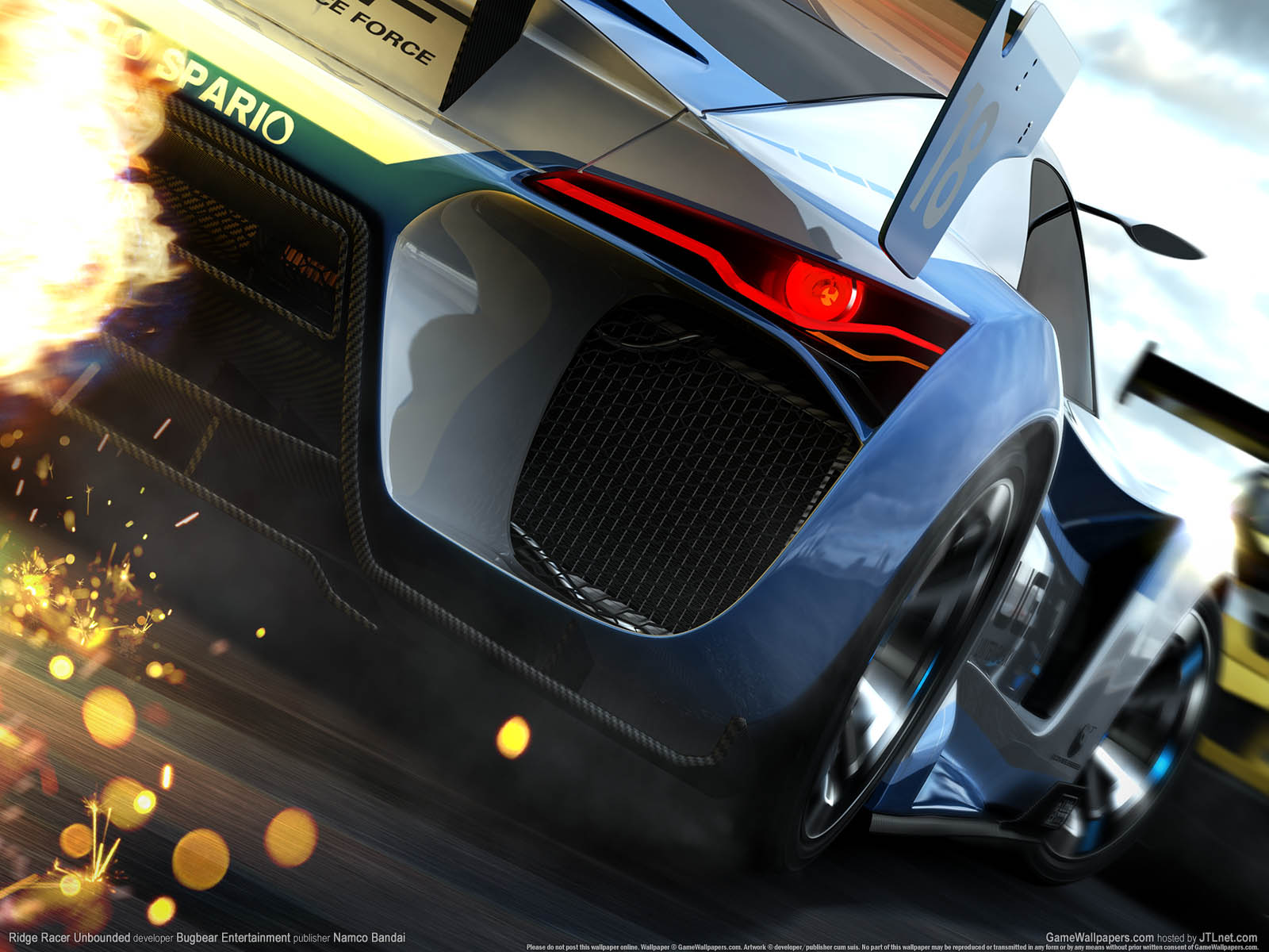 Ridge Racer Unboundedνmmer=03 achtergrond  1600x1200